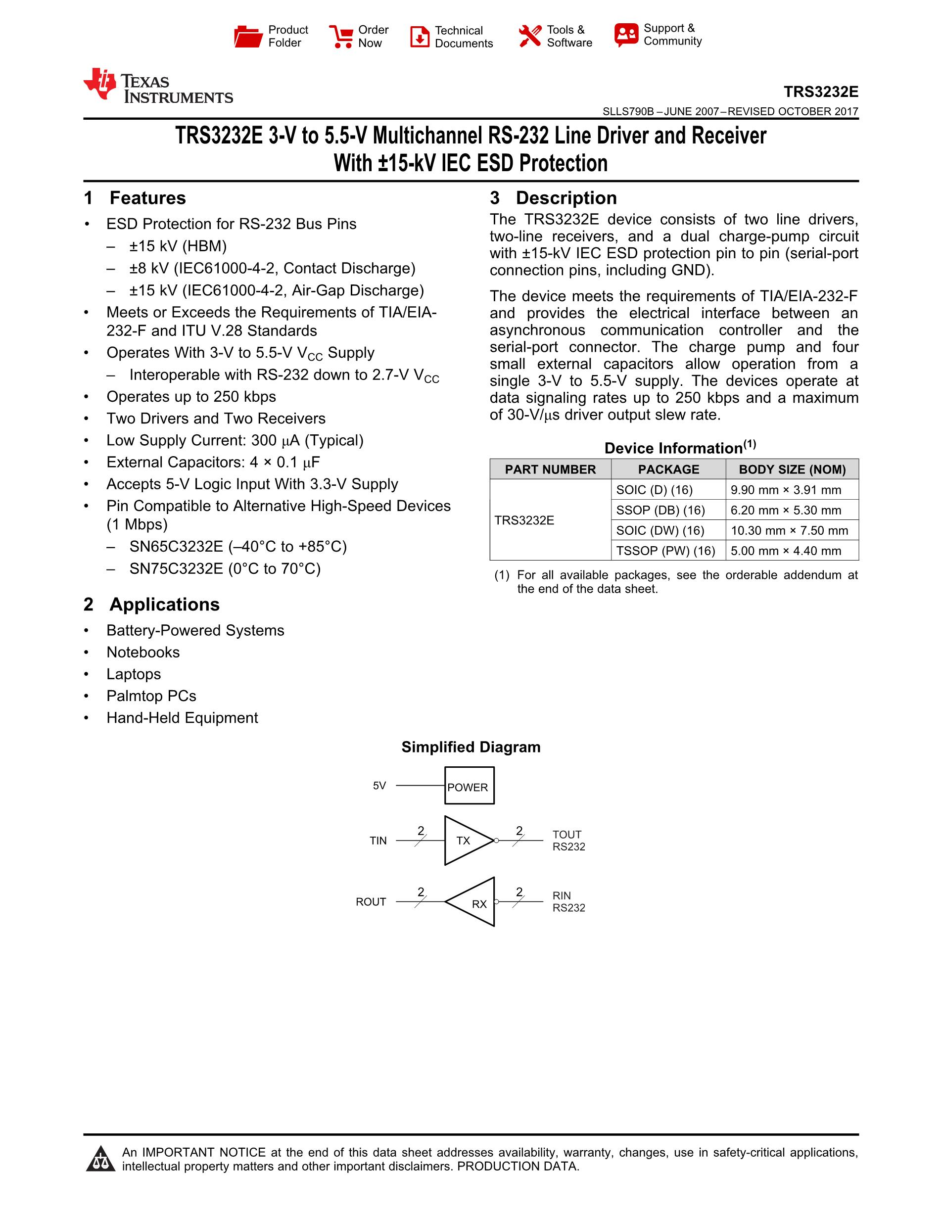 TRS3243CPWR's pdf picture 1