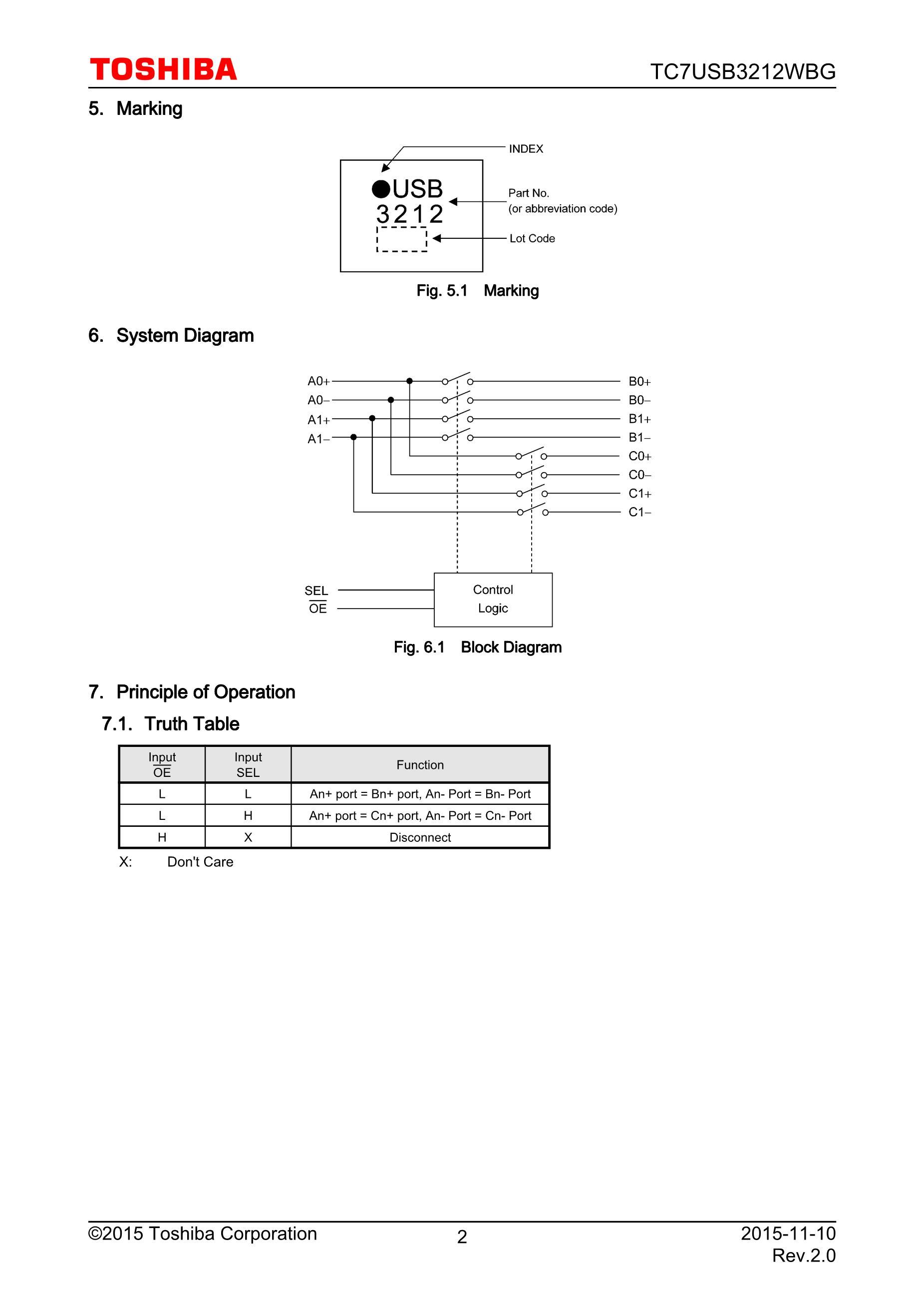TC7USB40MU,LF's pdf picture 2