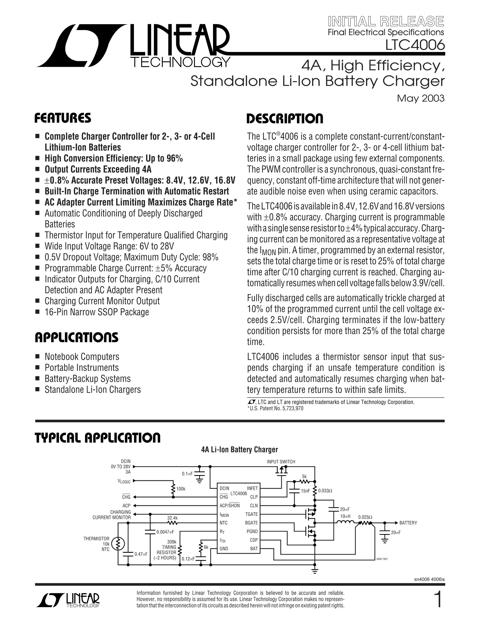 LTC4312IMS#PBF's pdf picture 1