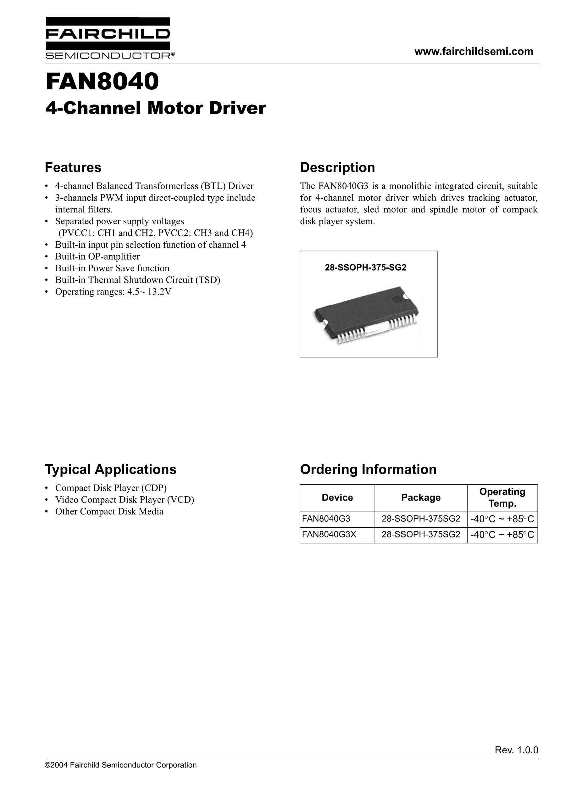 FAN8422D's pdf picture 1