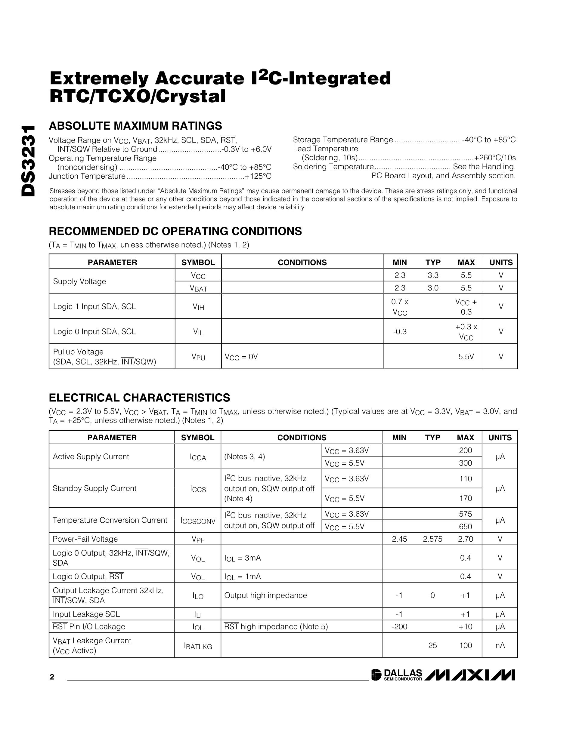 DS3234SN#T&R's pdf picture 2