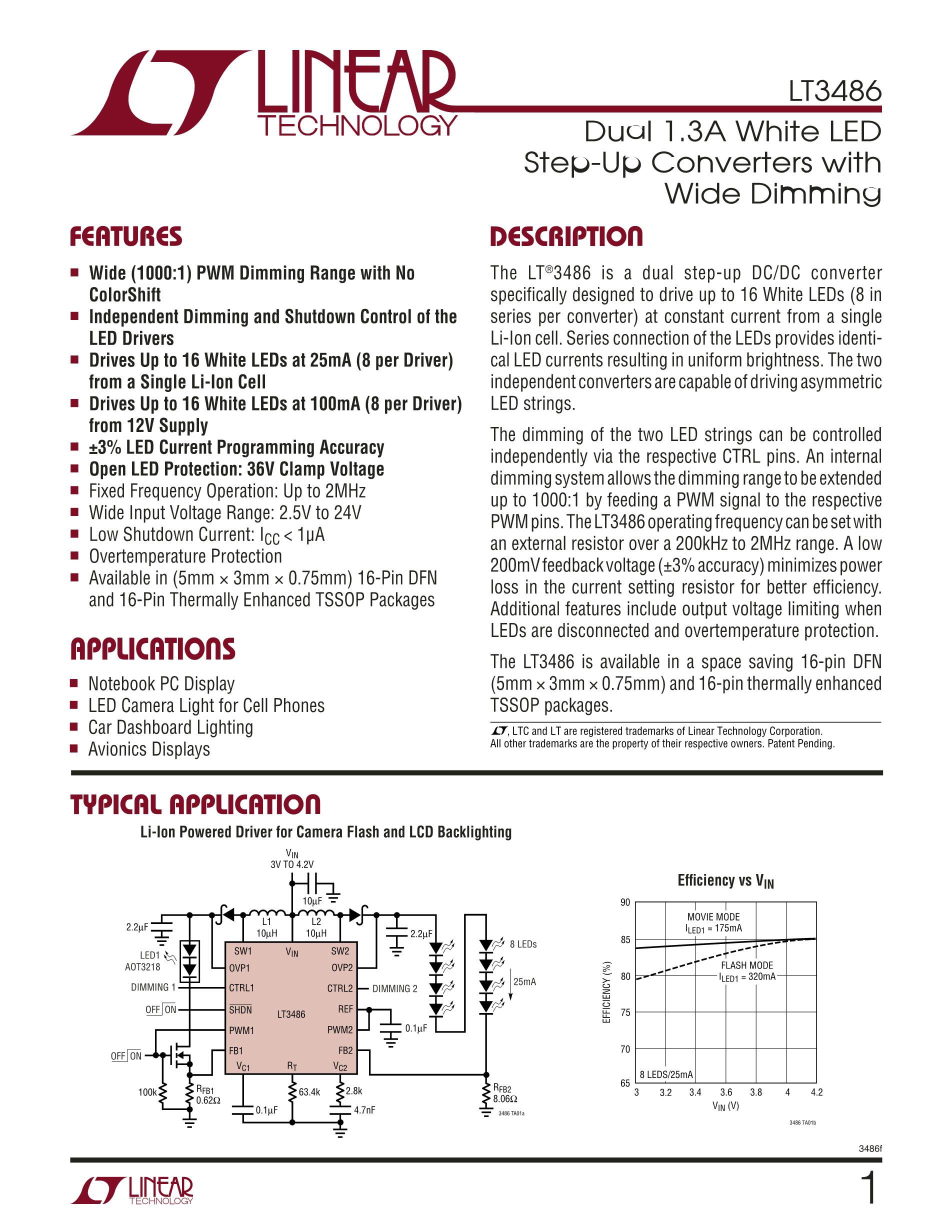 LT3483IS6#TRPBF's pdf picture 1