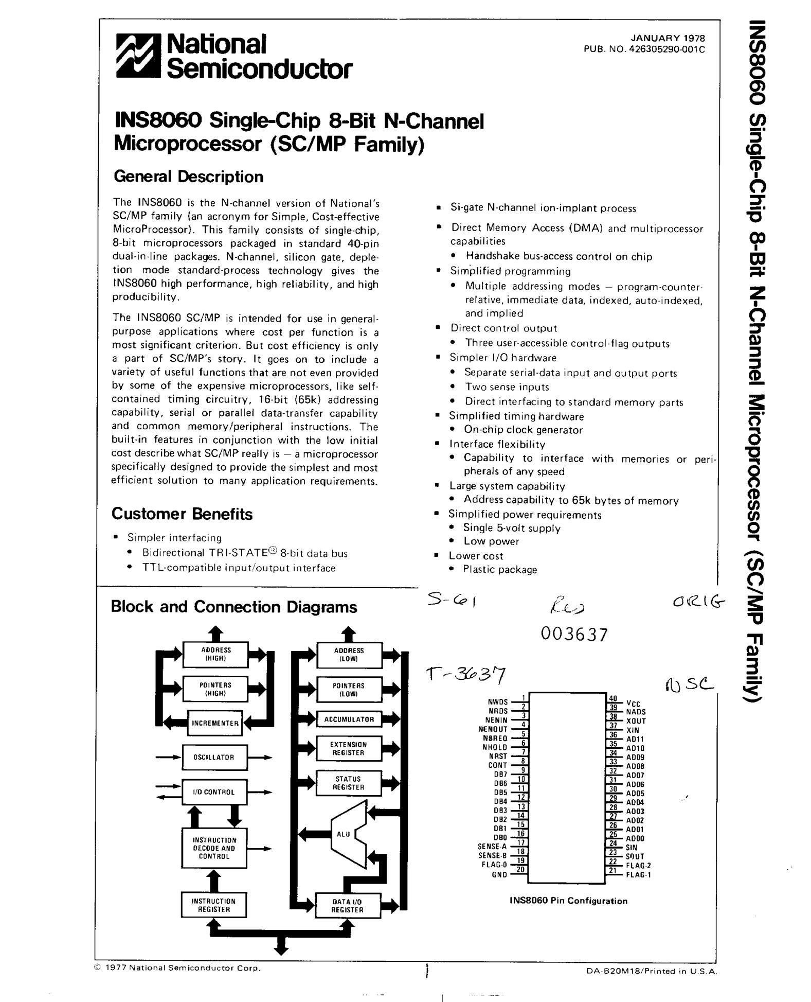 INS8250AV's pdf picture 1