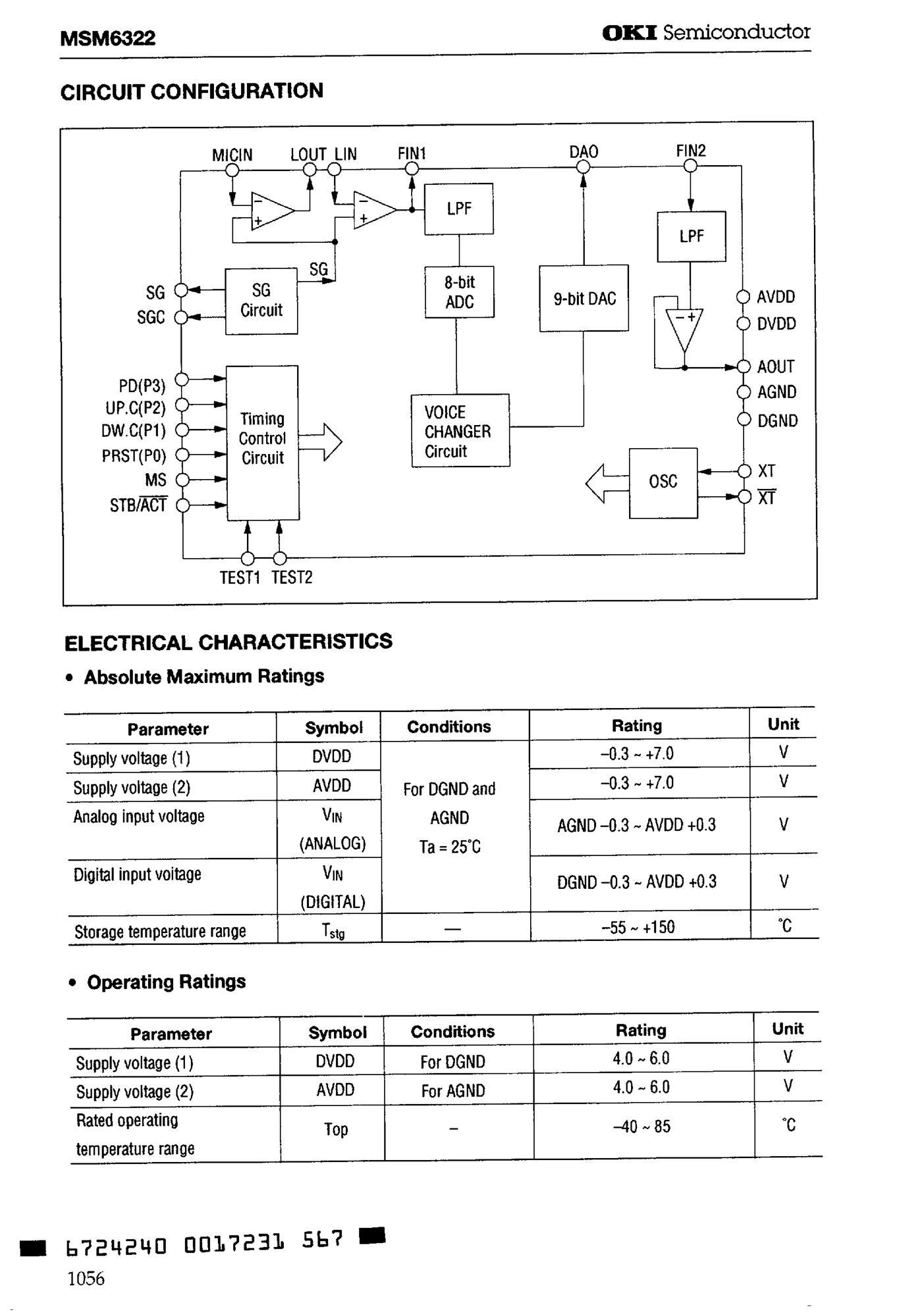 MSM6242B's pdf picture 2