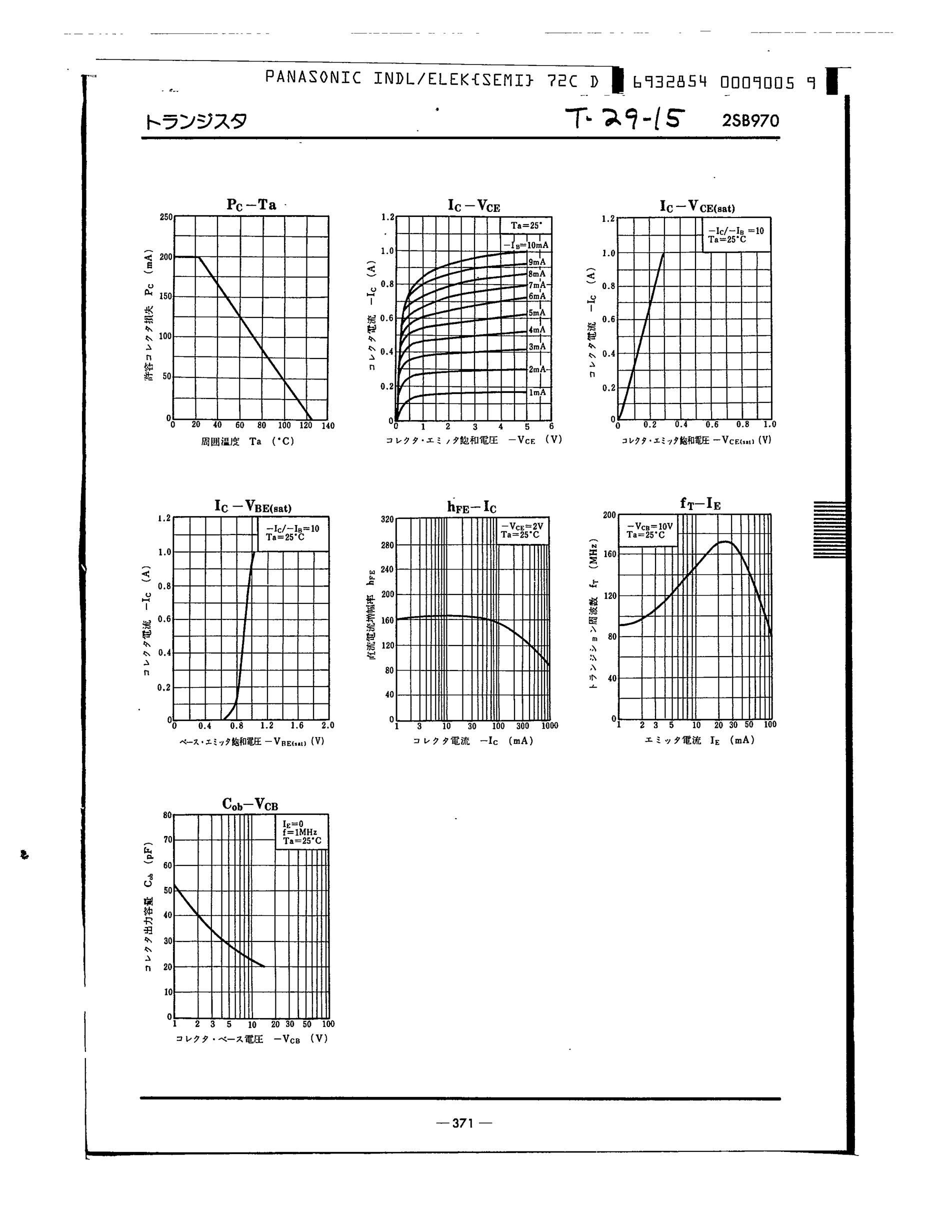 2SB970's pdf picture 2