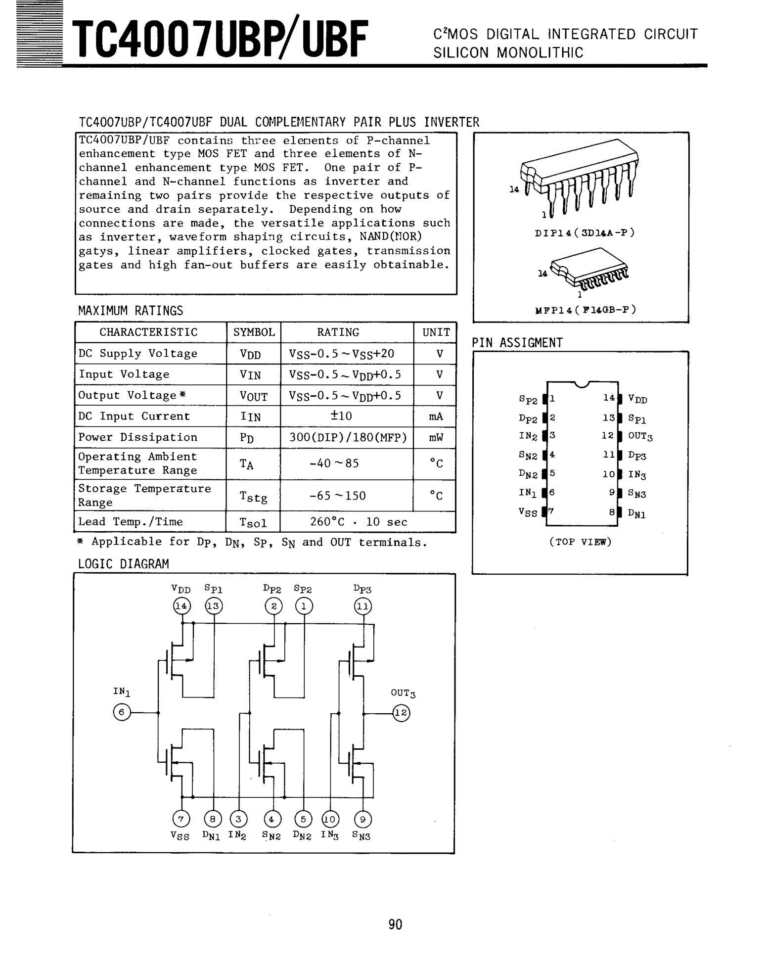 TC4094BFN(ELP)'s pdf picture 1