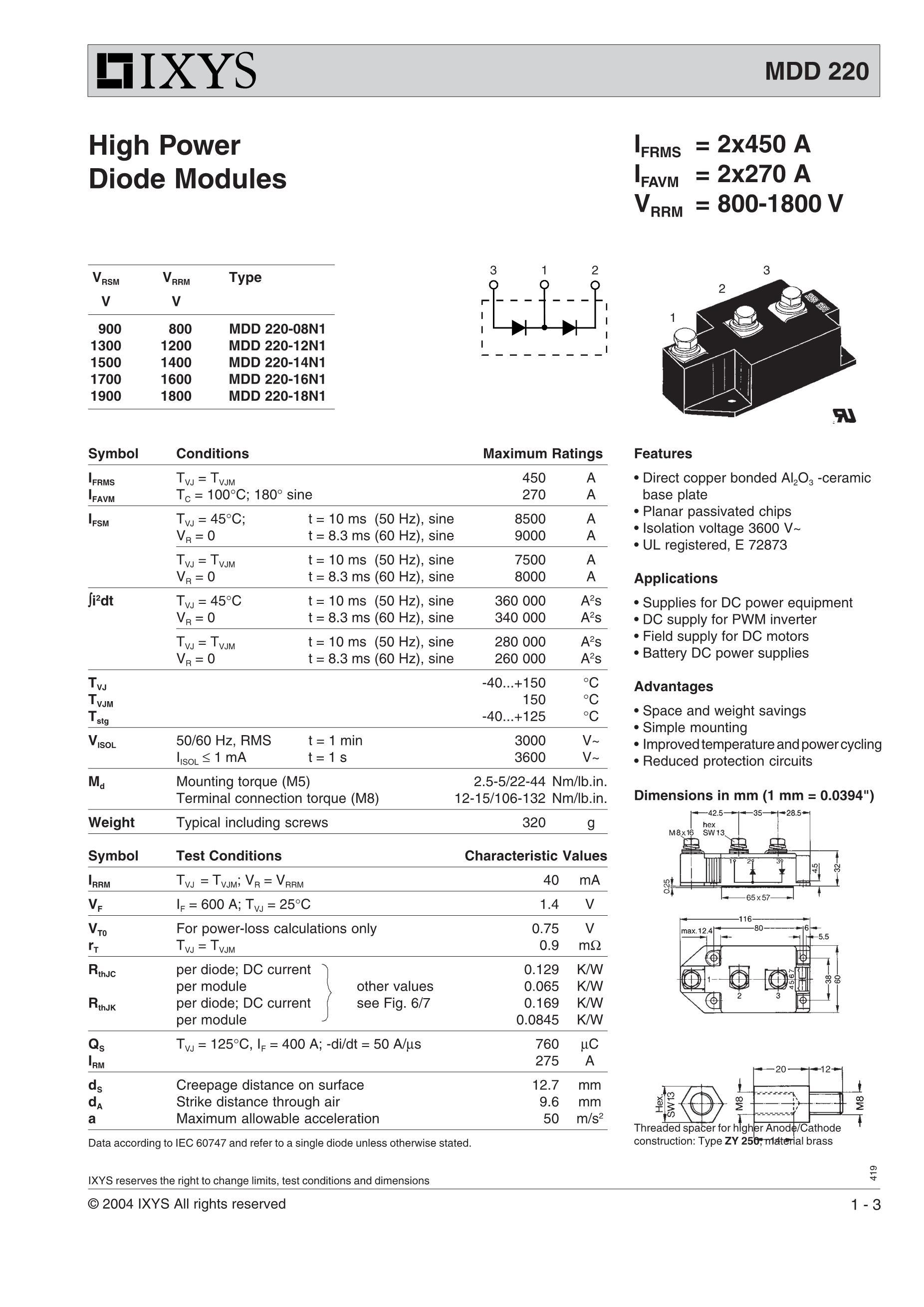 MDD250-16N1B's pdf picture 1