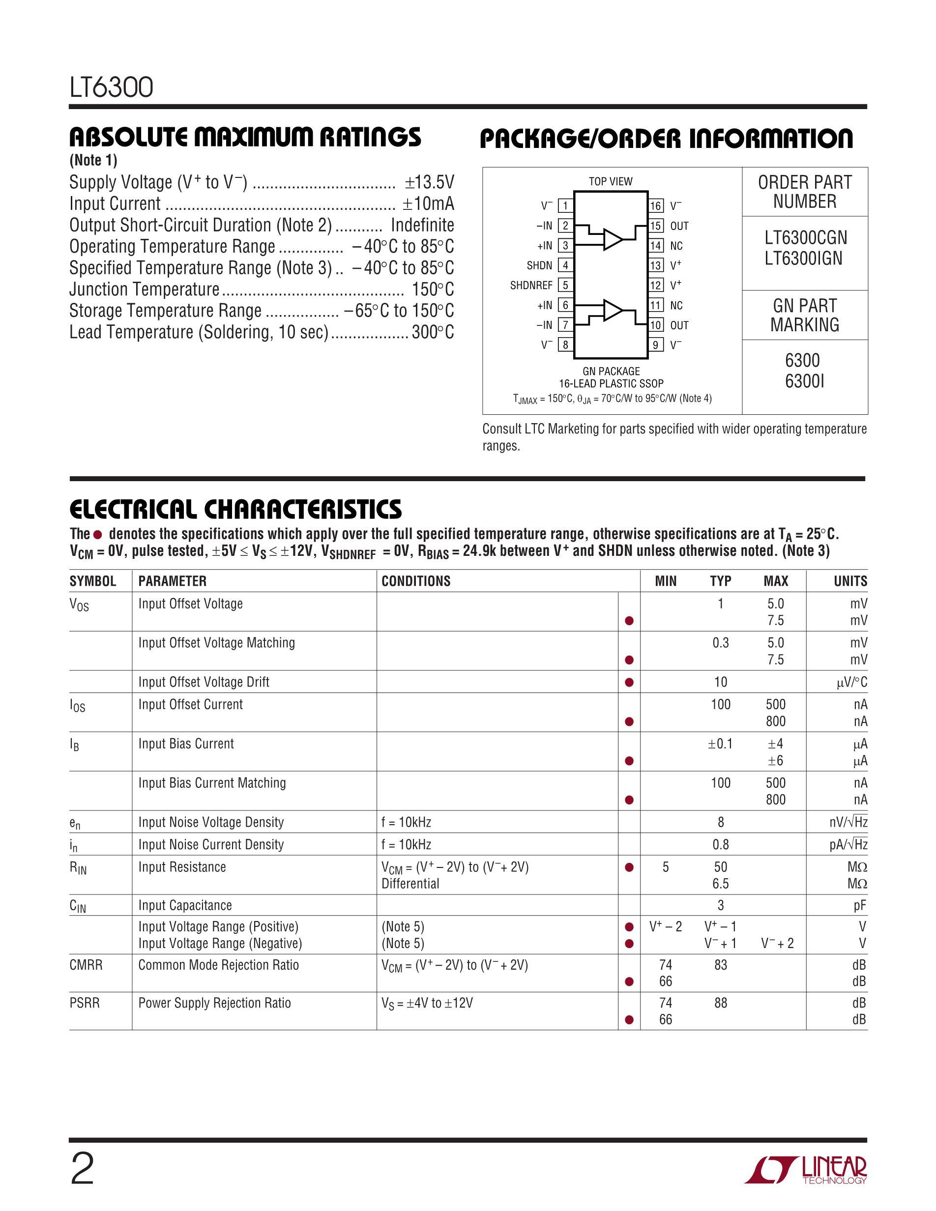 LT6375HDF#PBF's pdf picture 2