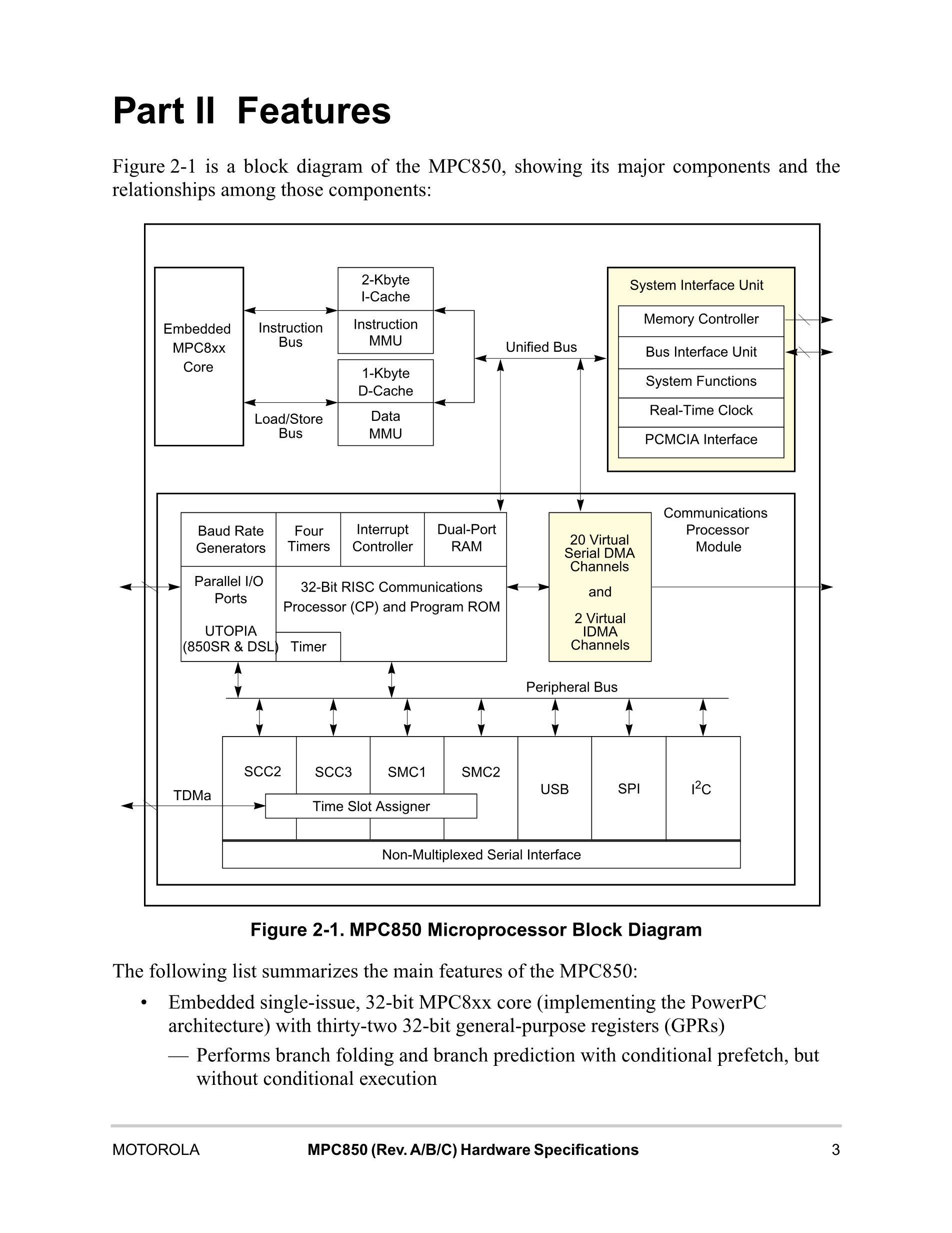 XPC850DSLZT50BU's pdf picture 3