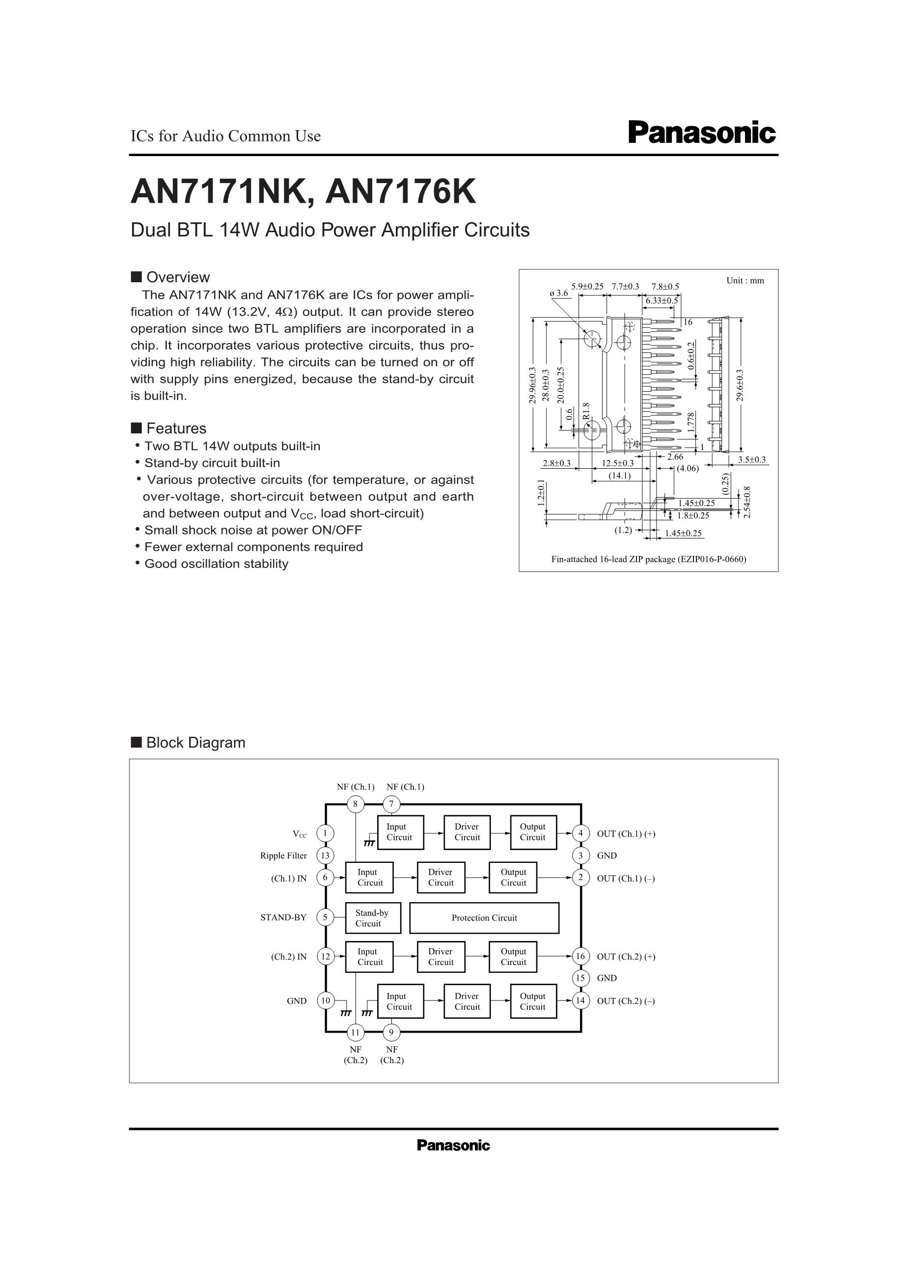 AN7164's pdf picture 1