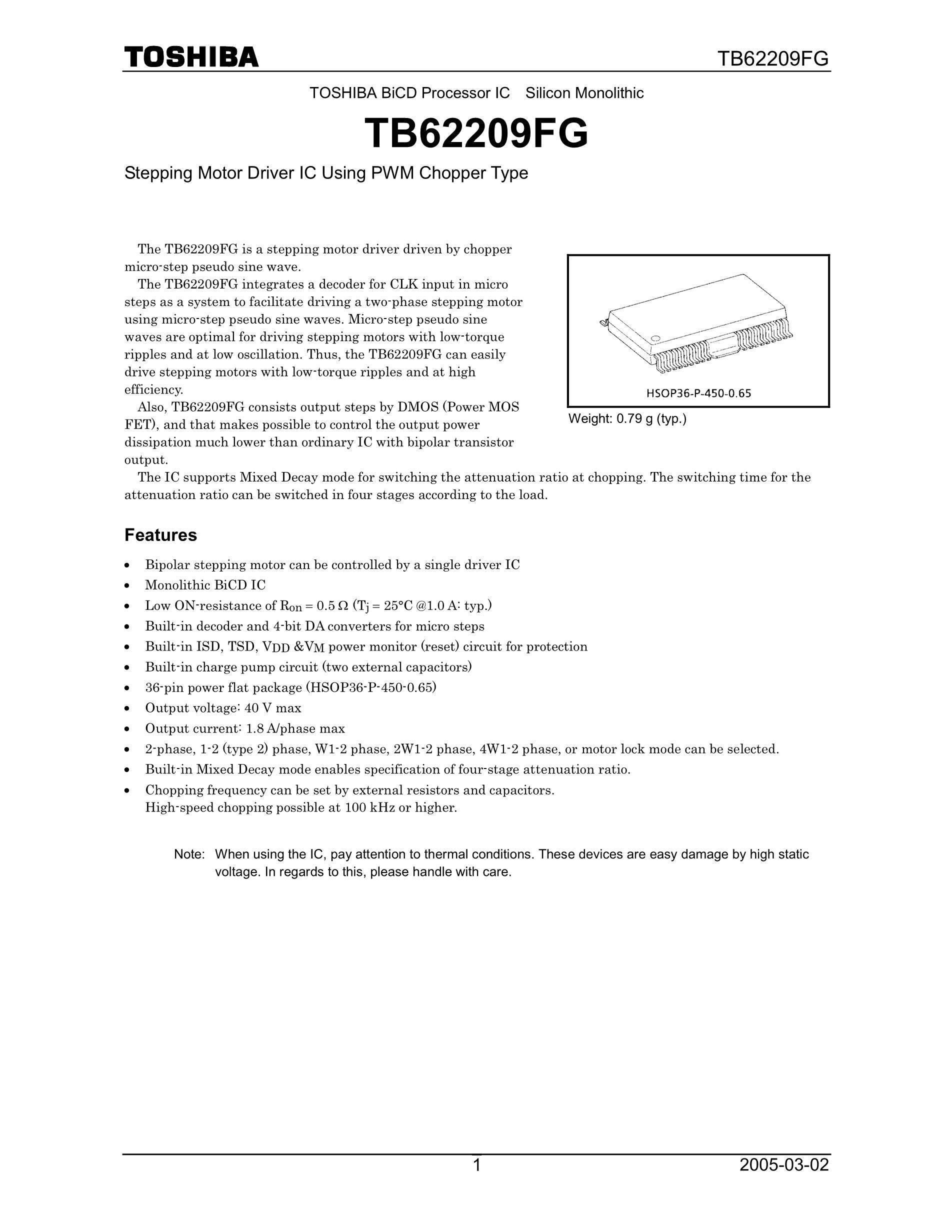 TB6200TF's pdf picture 1