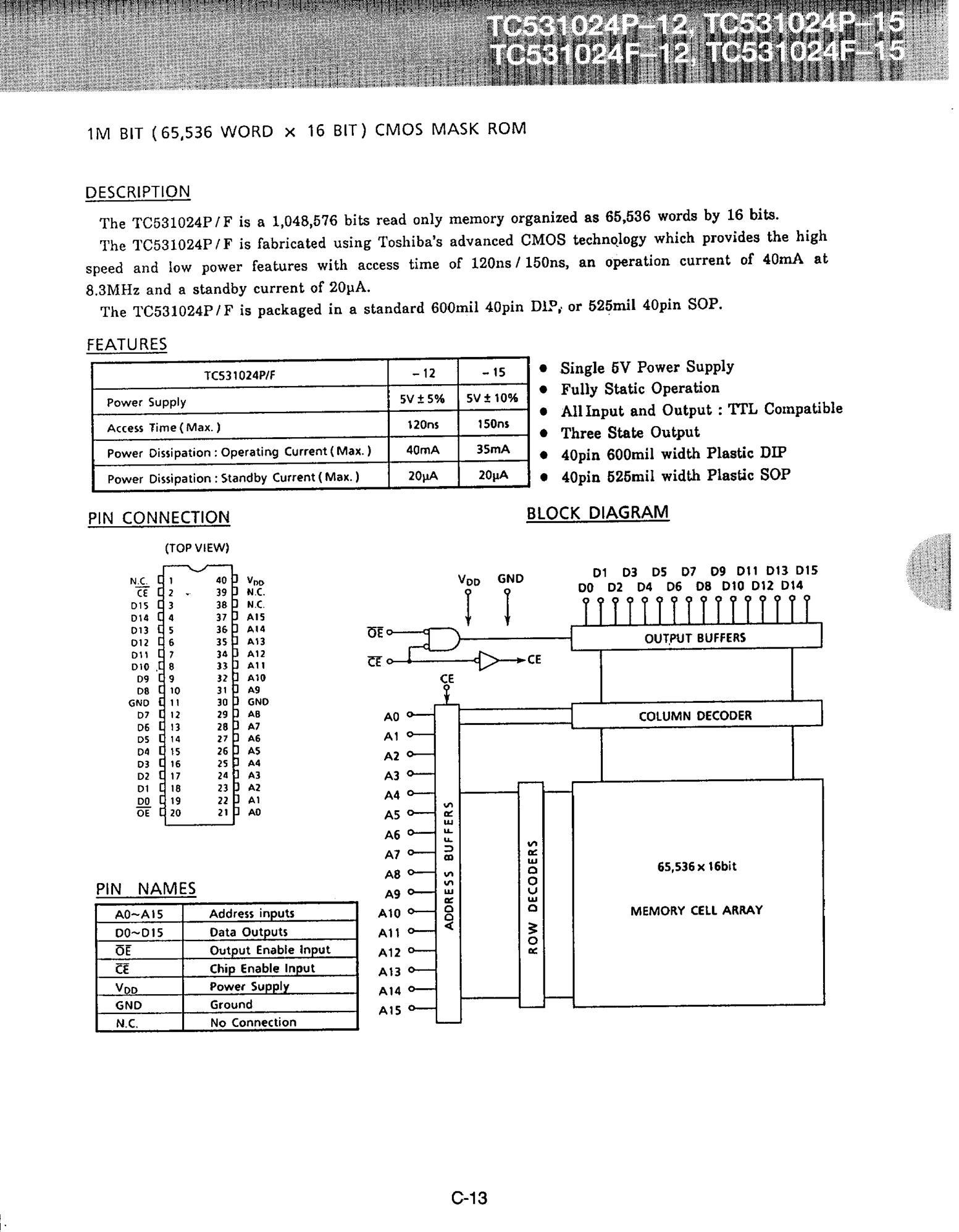 TC534CKW's pdf picture 1