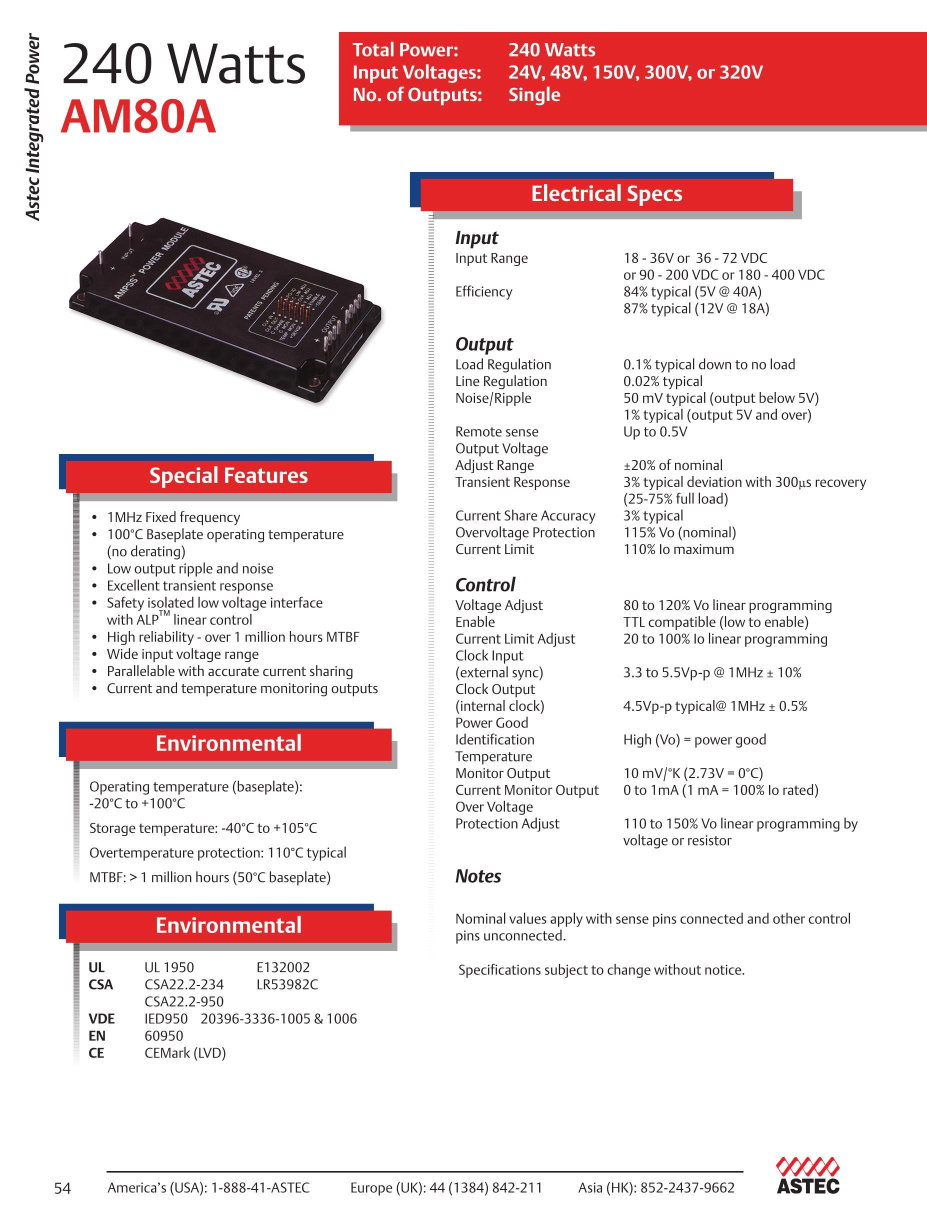 AM80A-300L-240F10's pdf picture 1