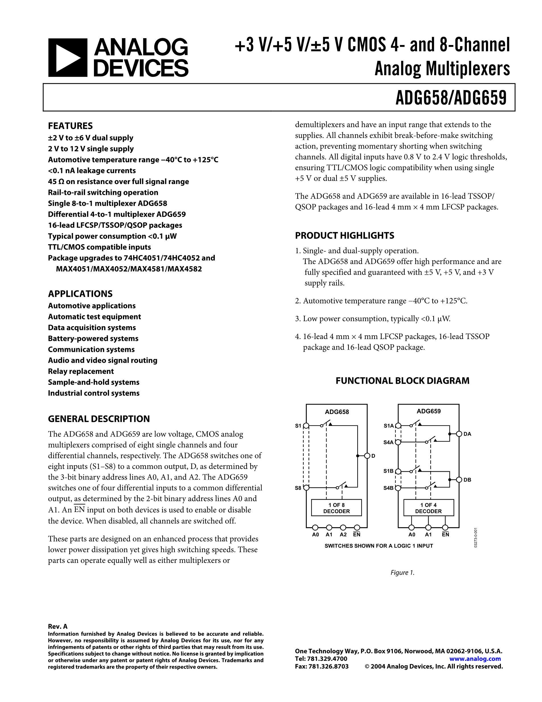 ADG619BRM's pdf picture 1