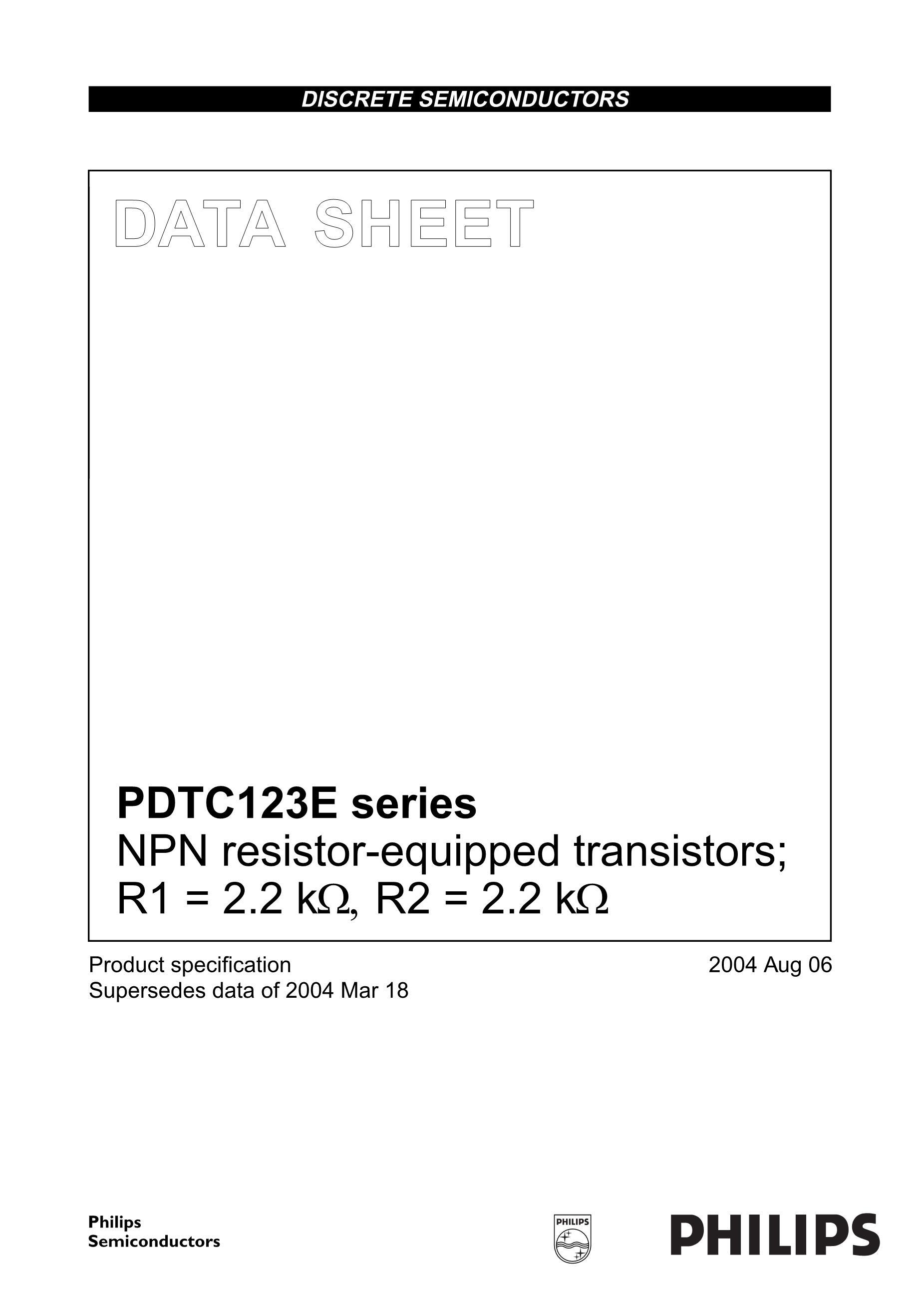 PDTC114WUA's pdf picture 1