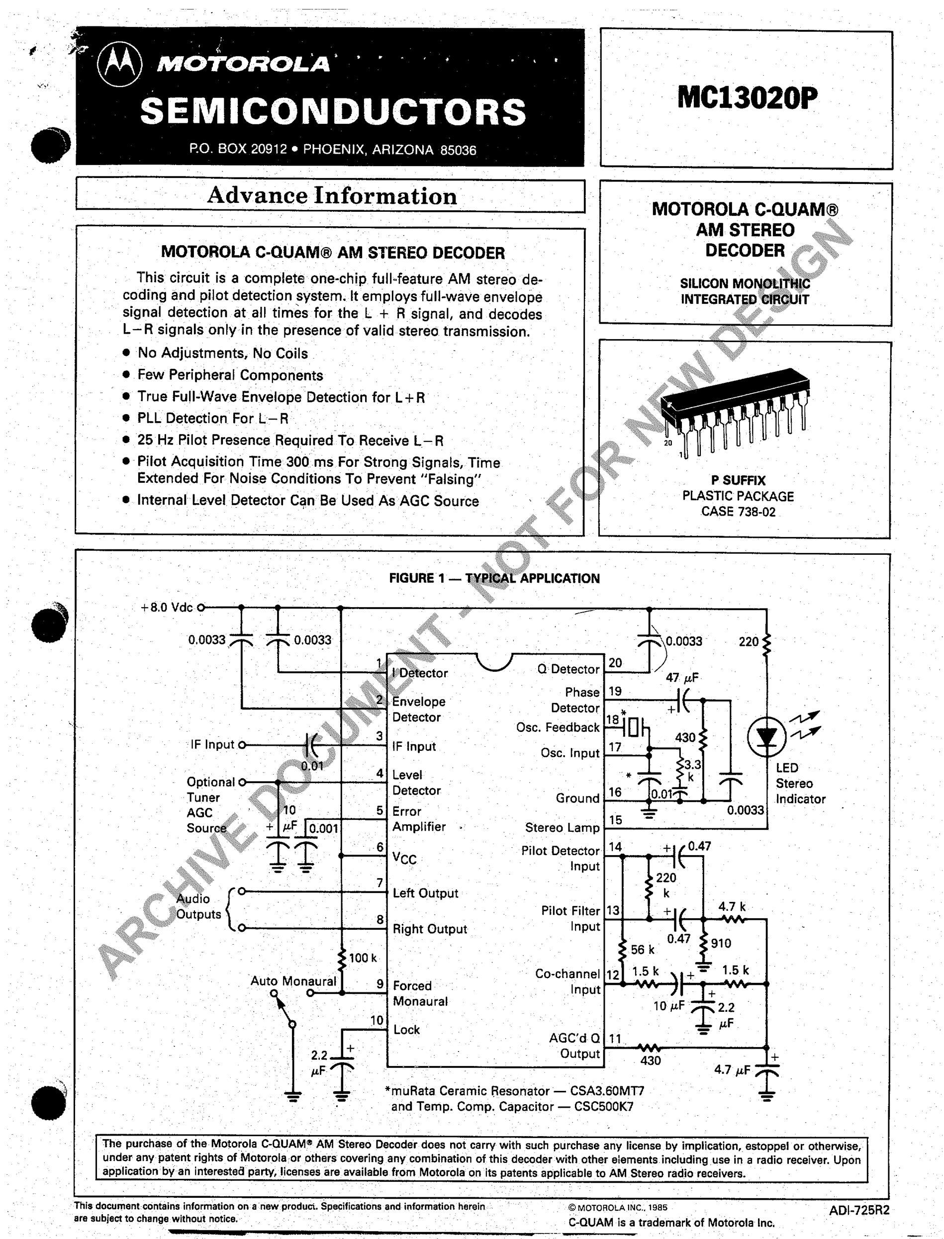 MC13783VK's pdf picture 1