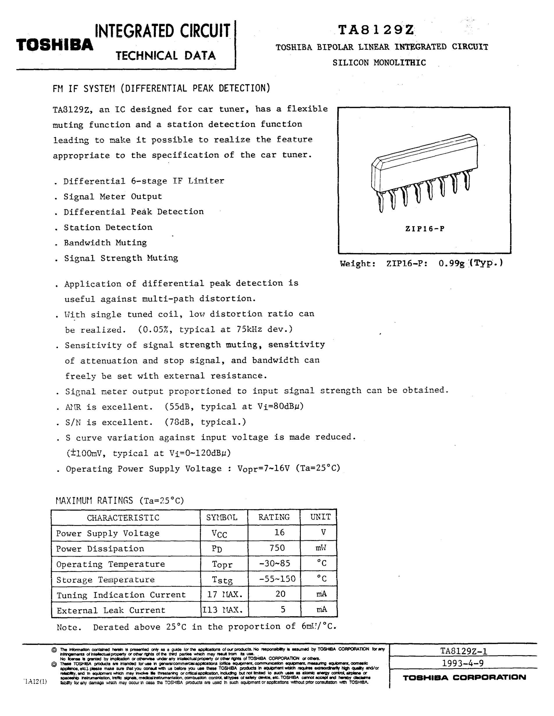 TA8164's pdf picture 1