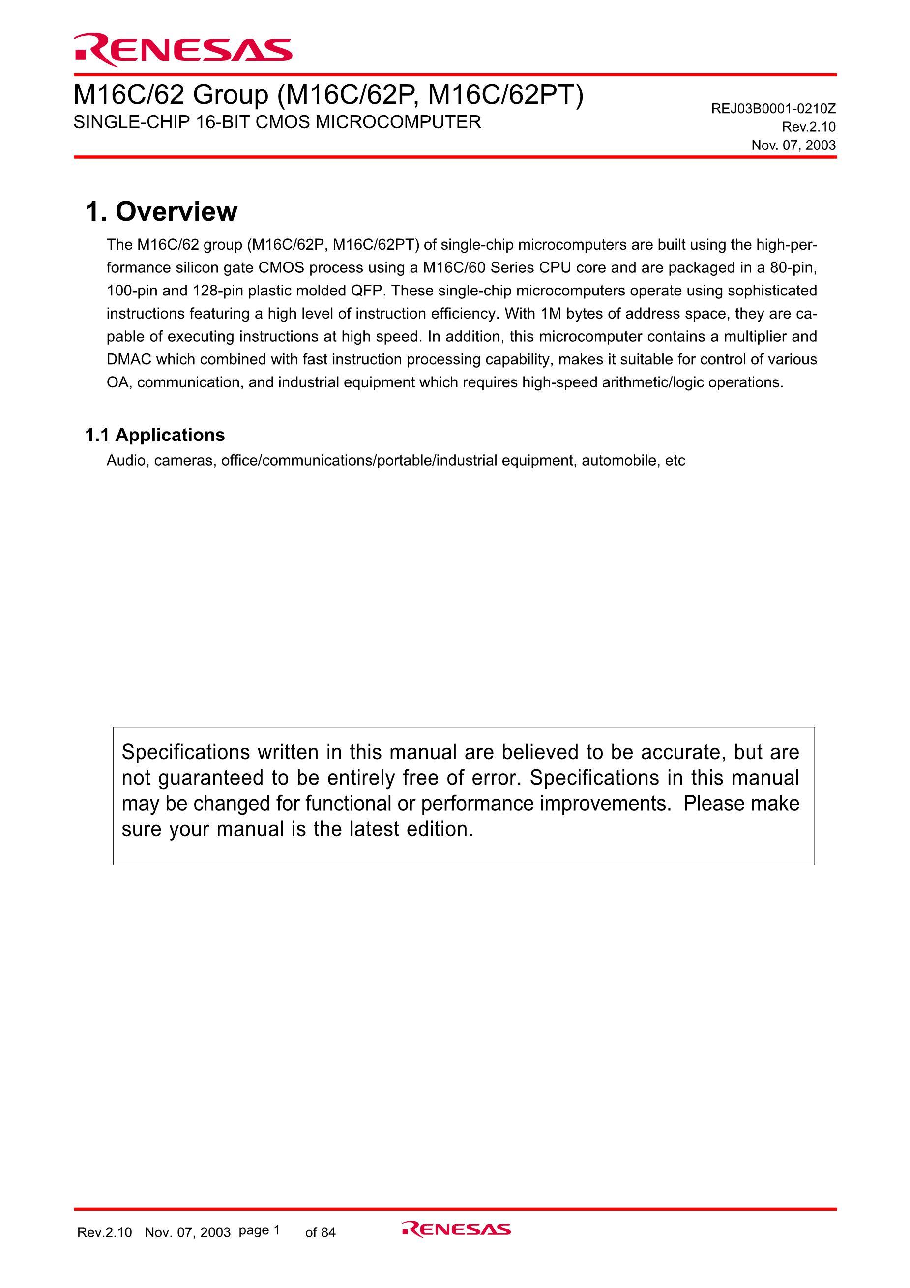 M30624FGNGP's pdf picture 1