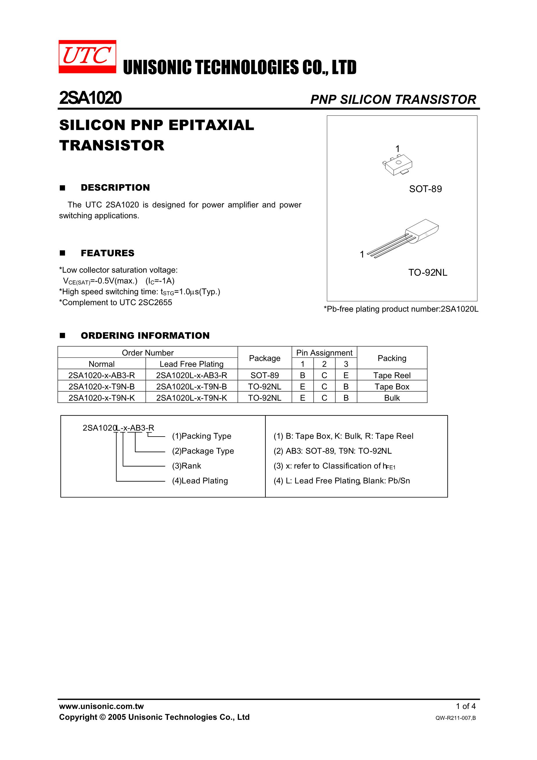 2SA1579(RS)'s pdf picture 1