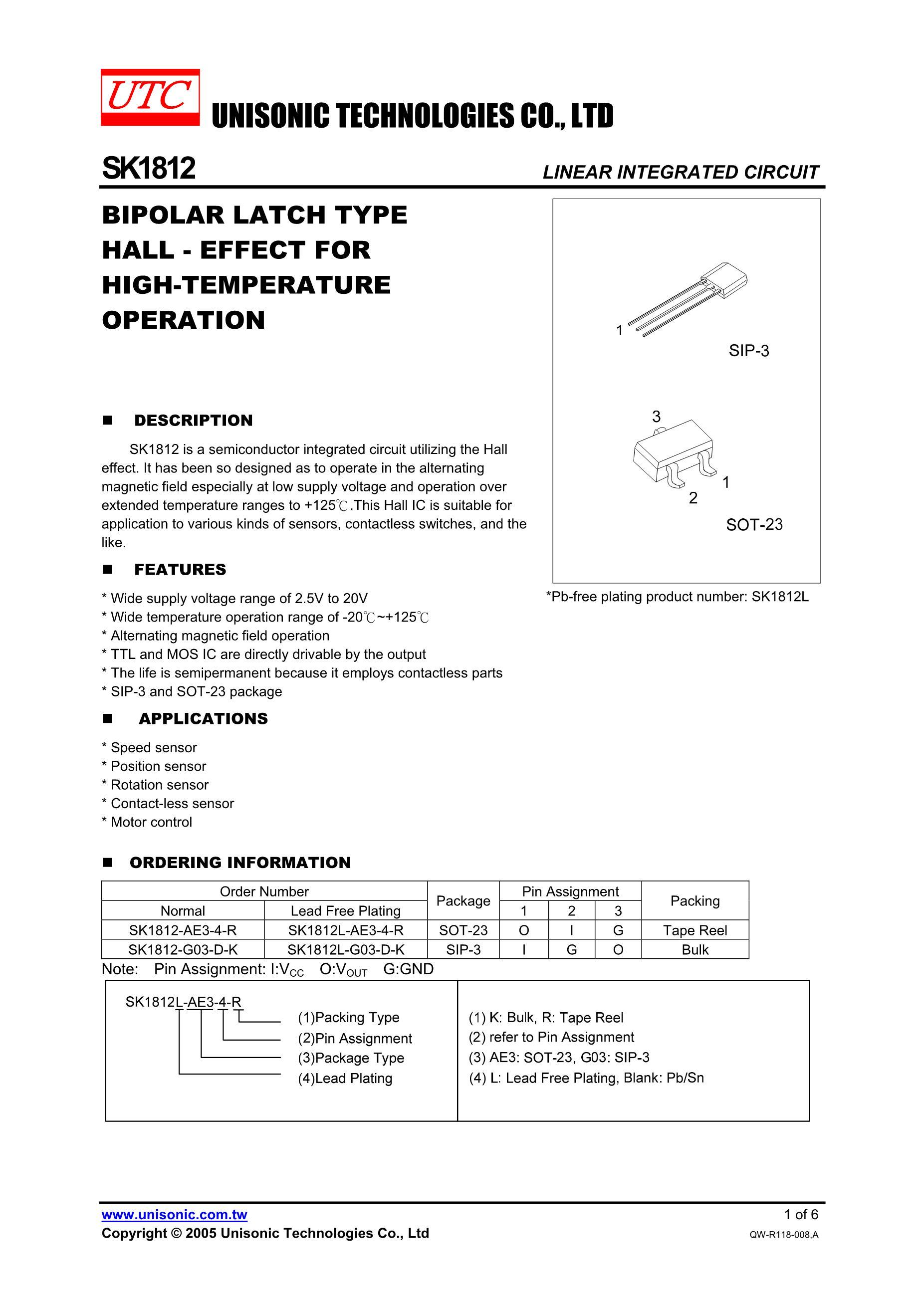 1812684K/50V's pdf picture 1