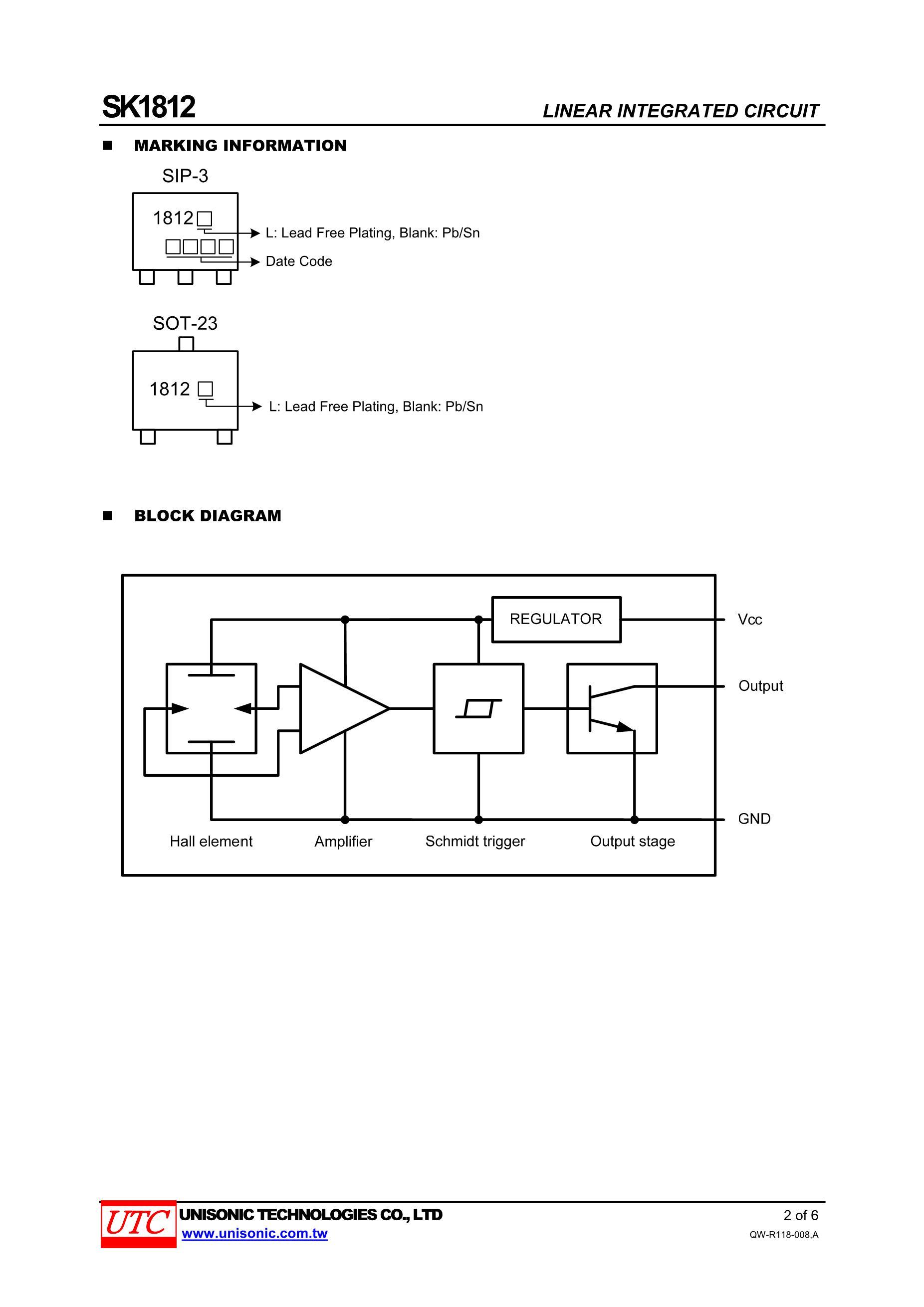 1812684K/50V's pdf picture 2