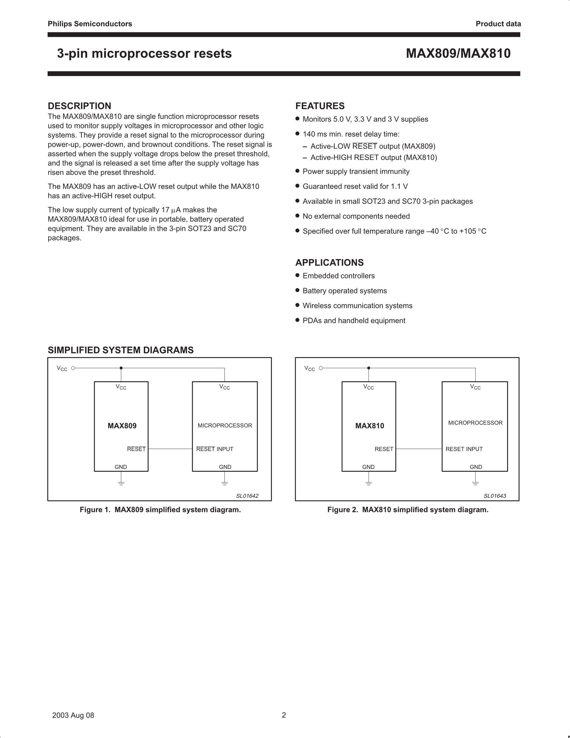 MAX8808XETA+T's pdf picture 2