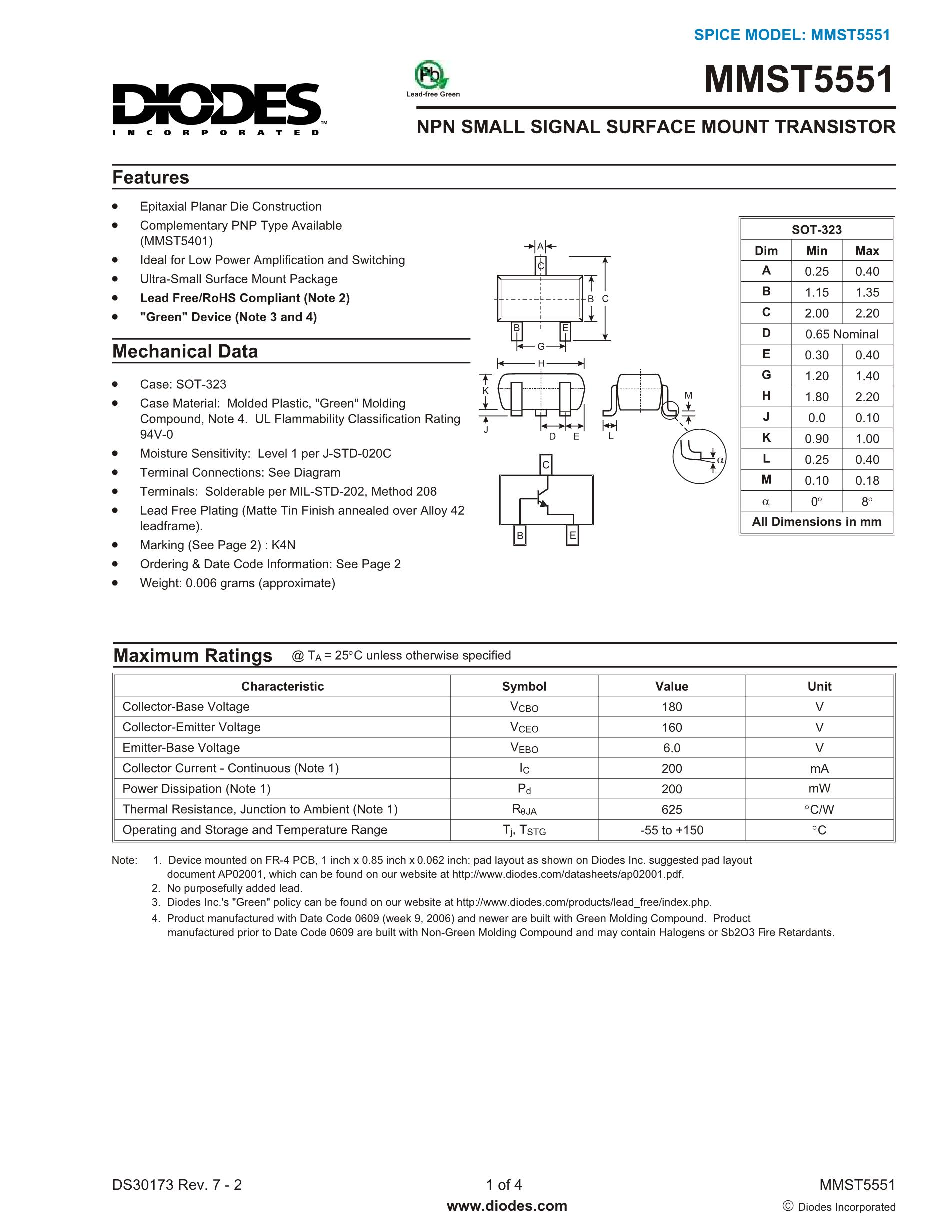 MMST4403-T146/2TV's pdf picture 1