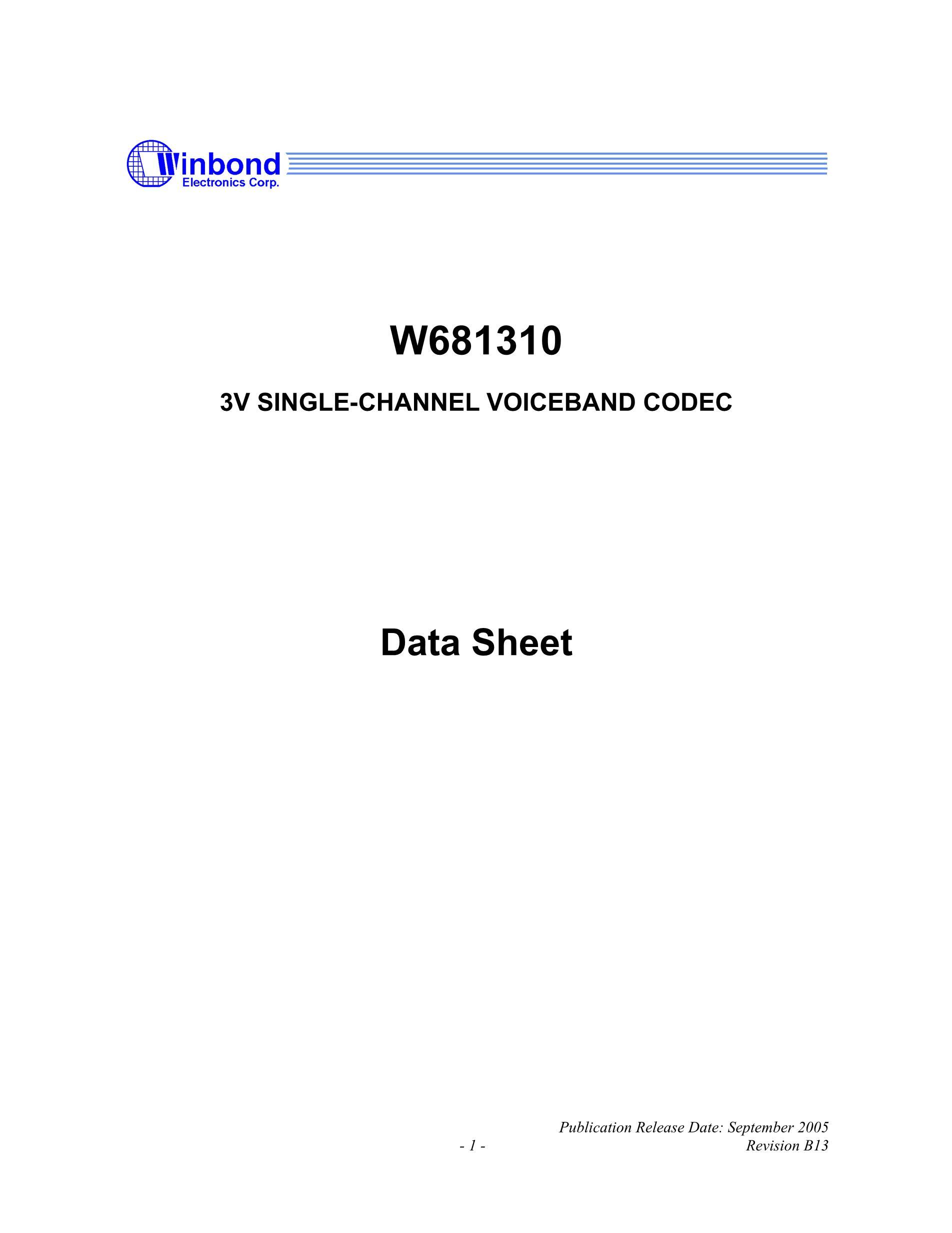 W681360SG TR's pdf picture 1