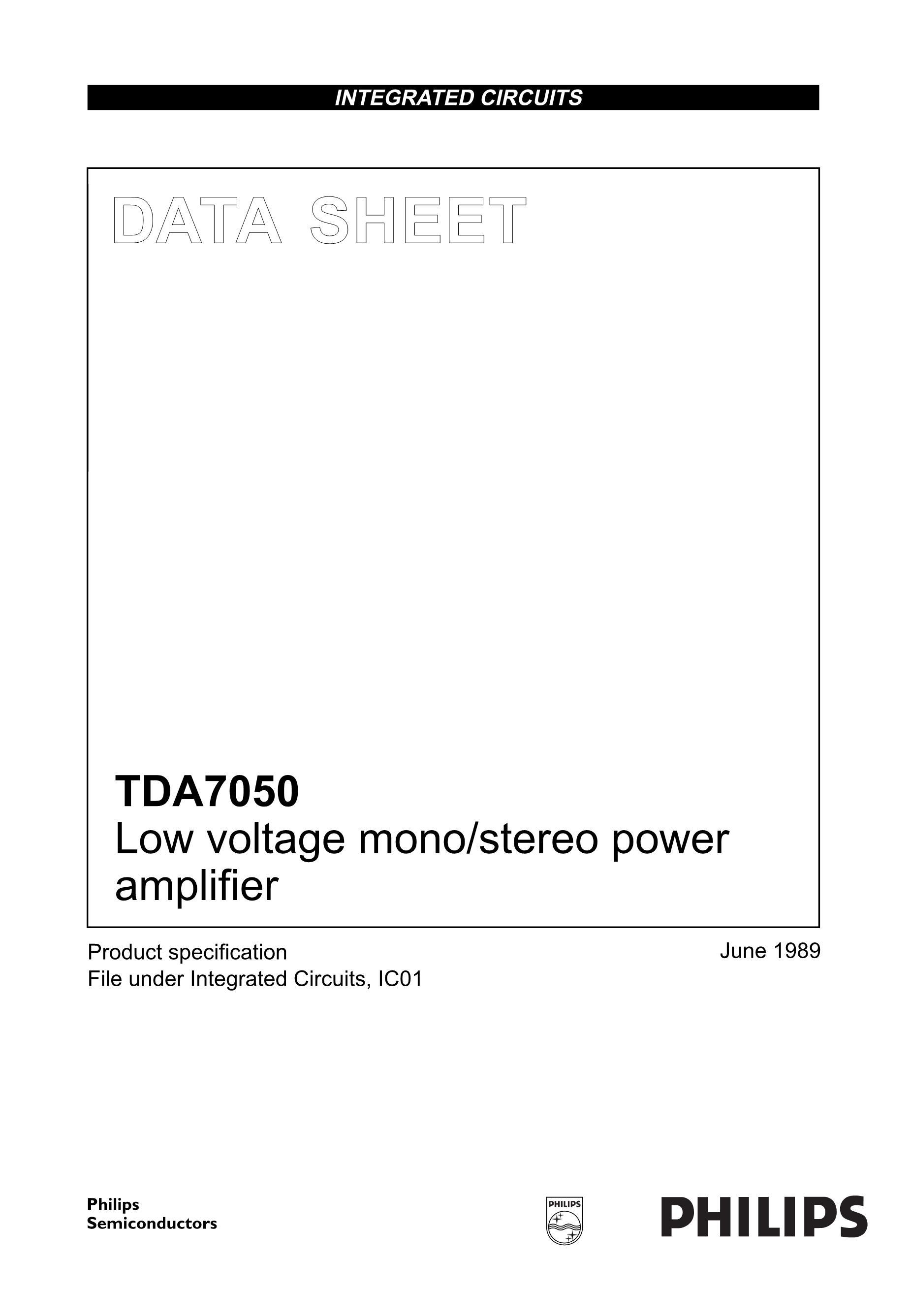 TDA7437N's pdf picture 1