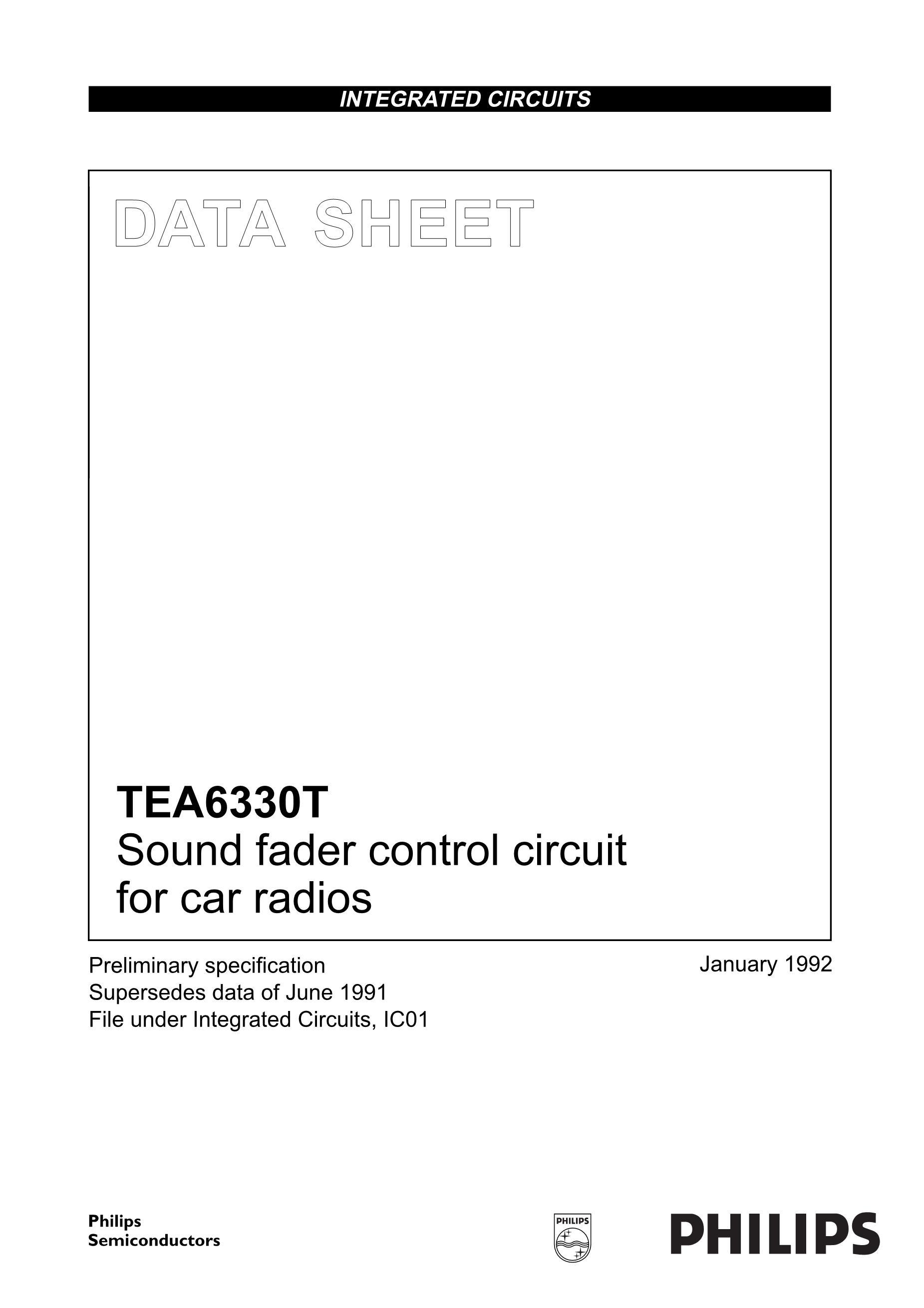 TEA6425D's pdf picture 1