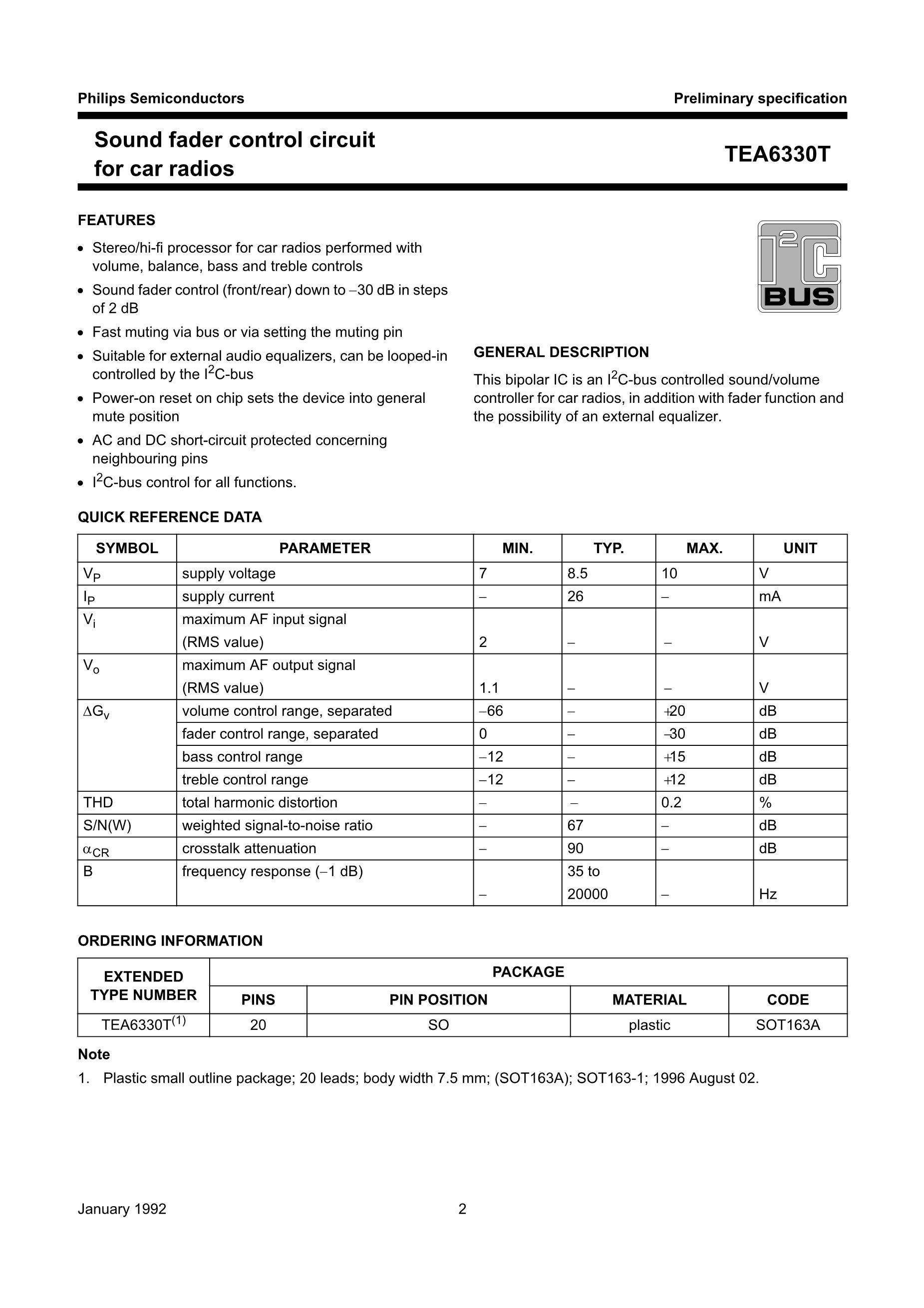 TEA6425D's pdf picture 2