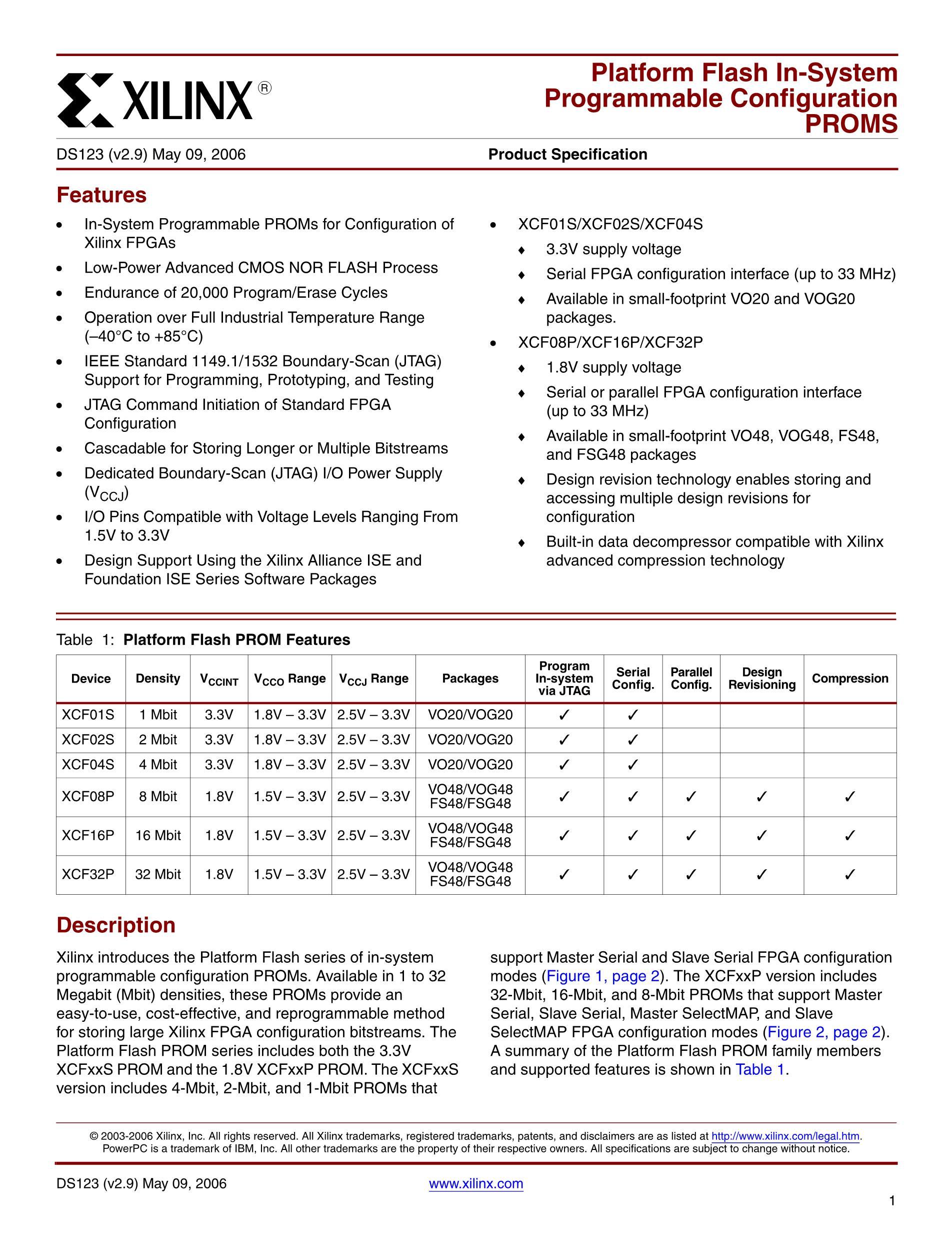 XCF08PVOG48C's pdf picture 1