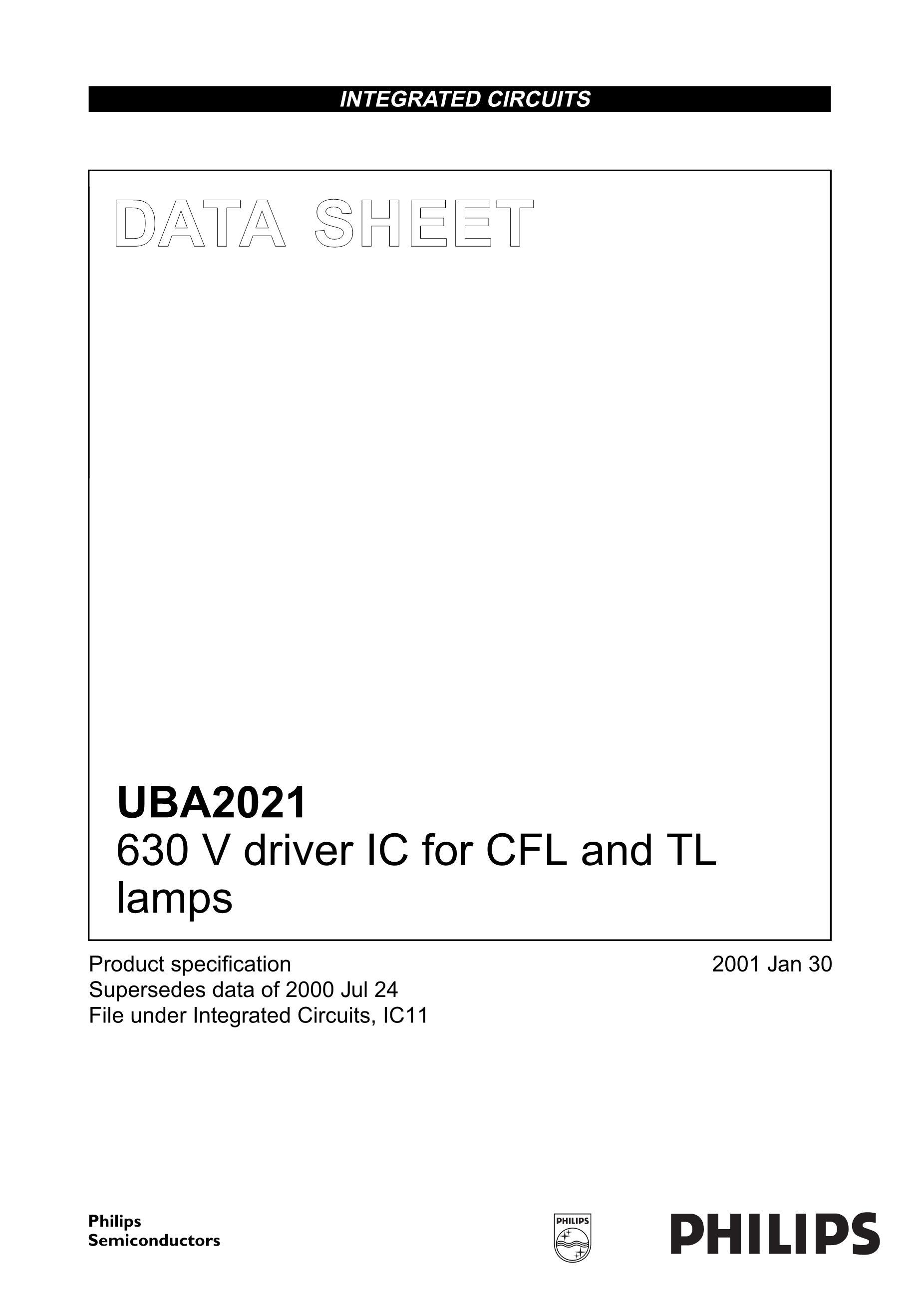 UBA2211AP/N1,112's pdf picture 1