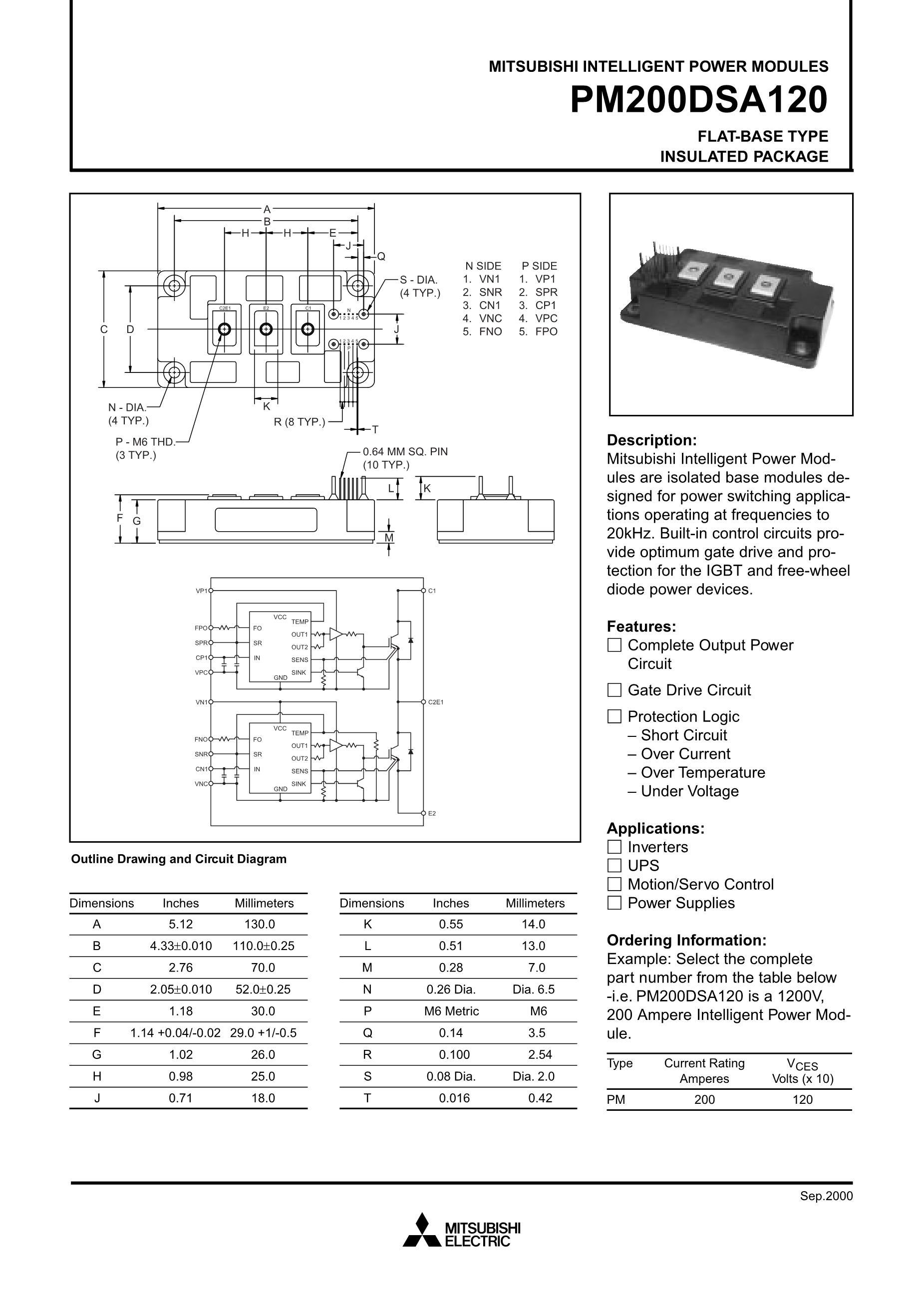 PM20CMA060's pdf picture 1