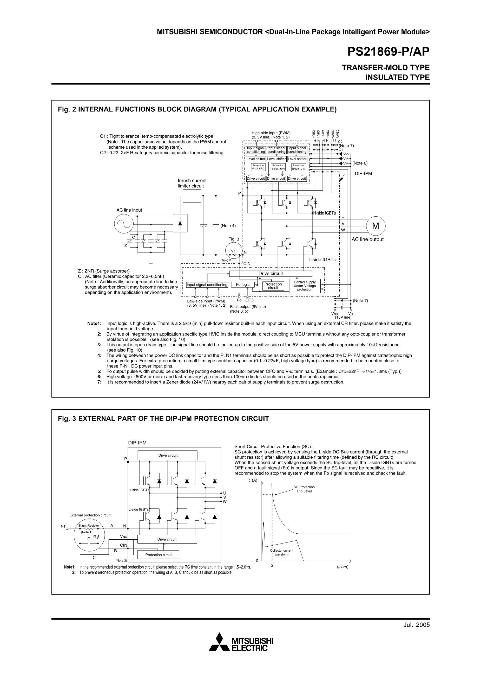 PS21869-A's pdf picture 2