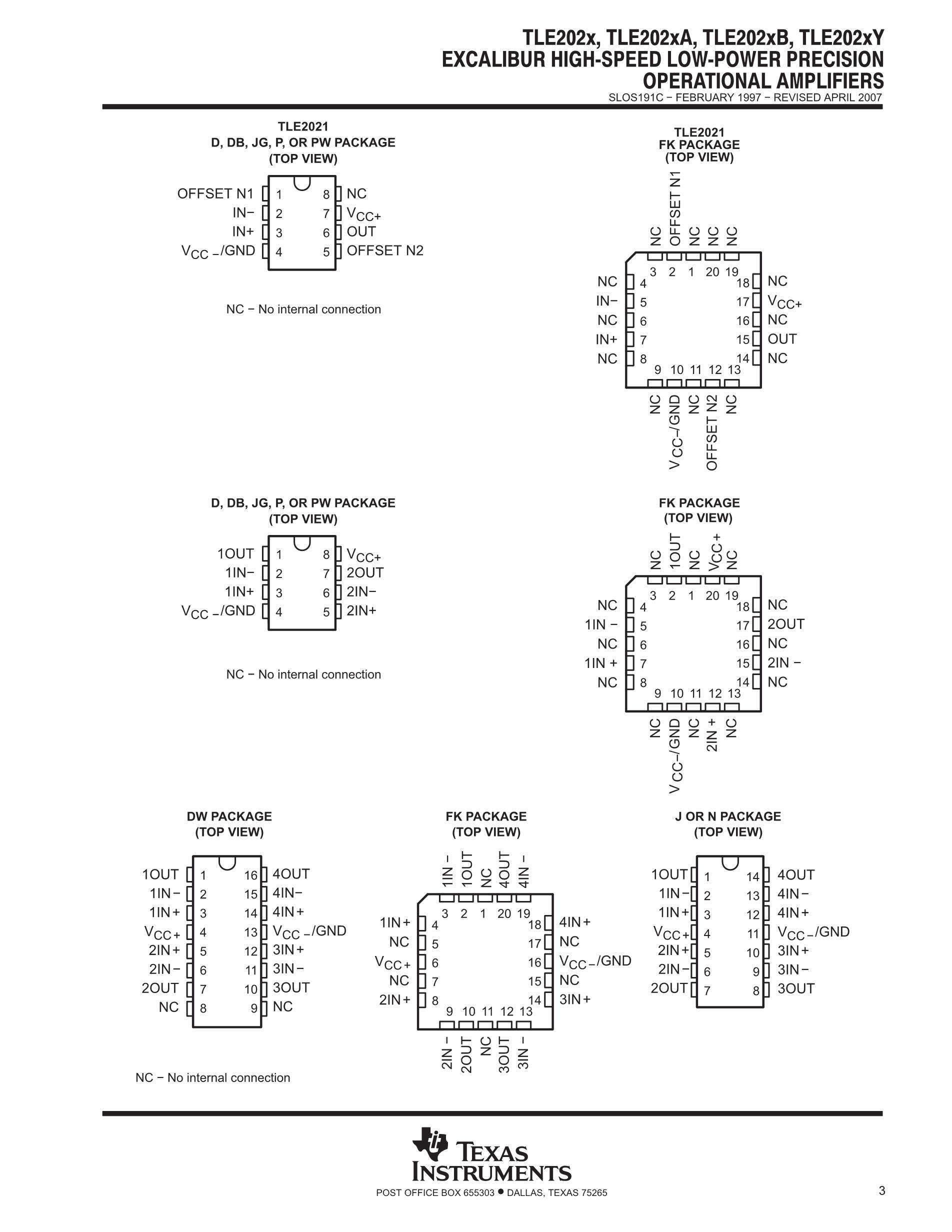 TLE2425IDR's pdf picture 3