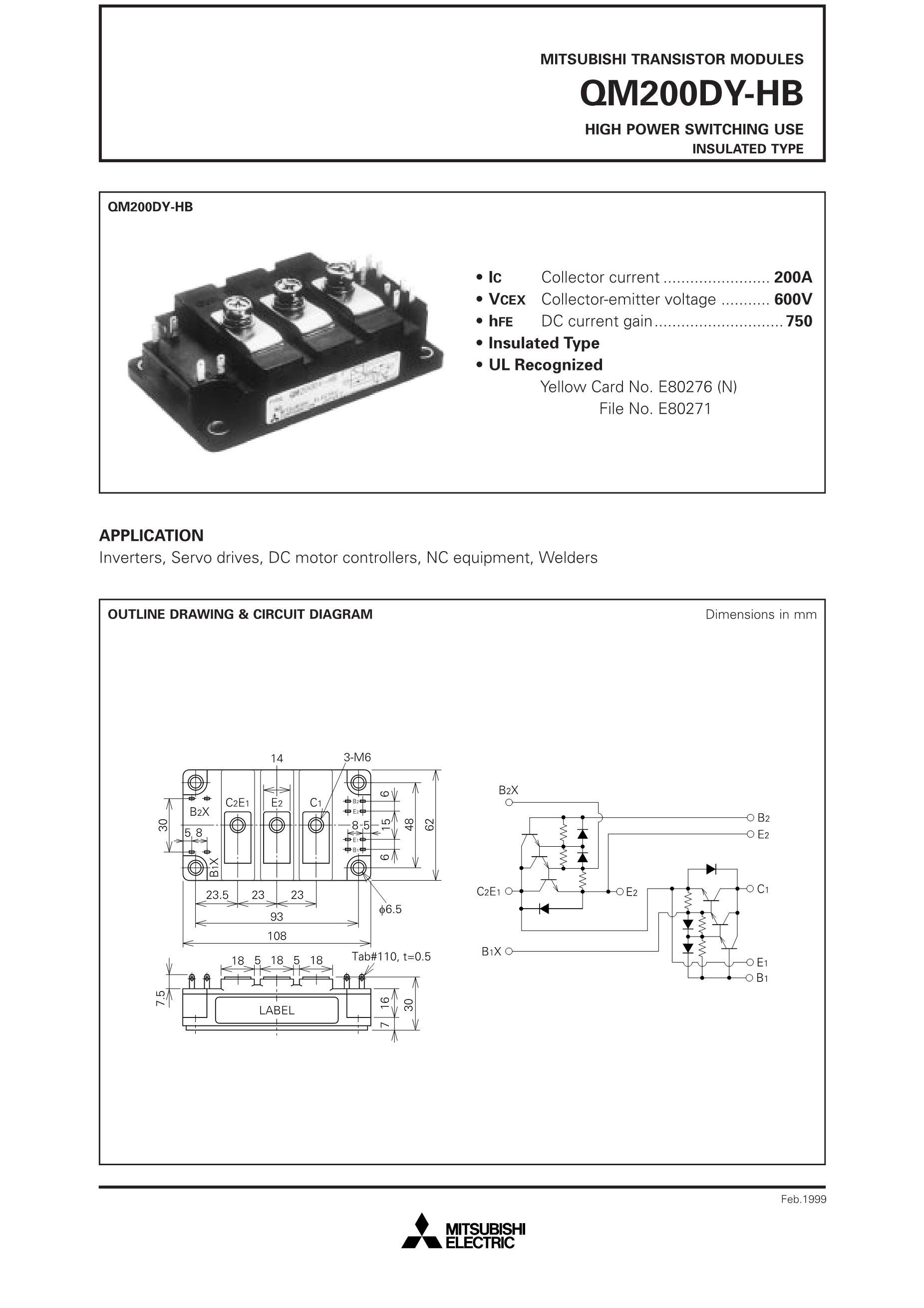 QM200HC-M's pdf picture 1