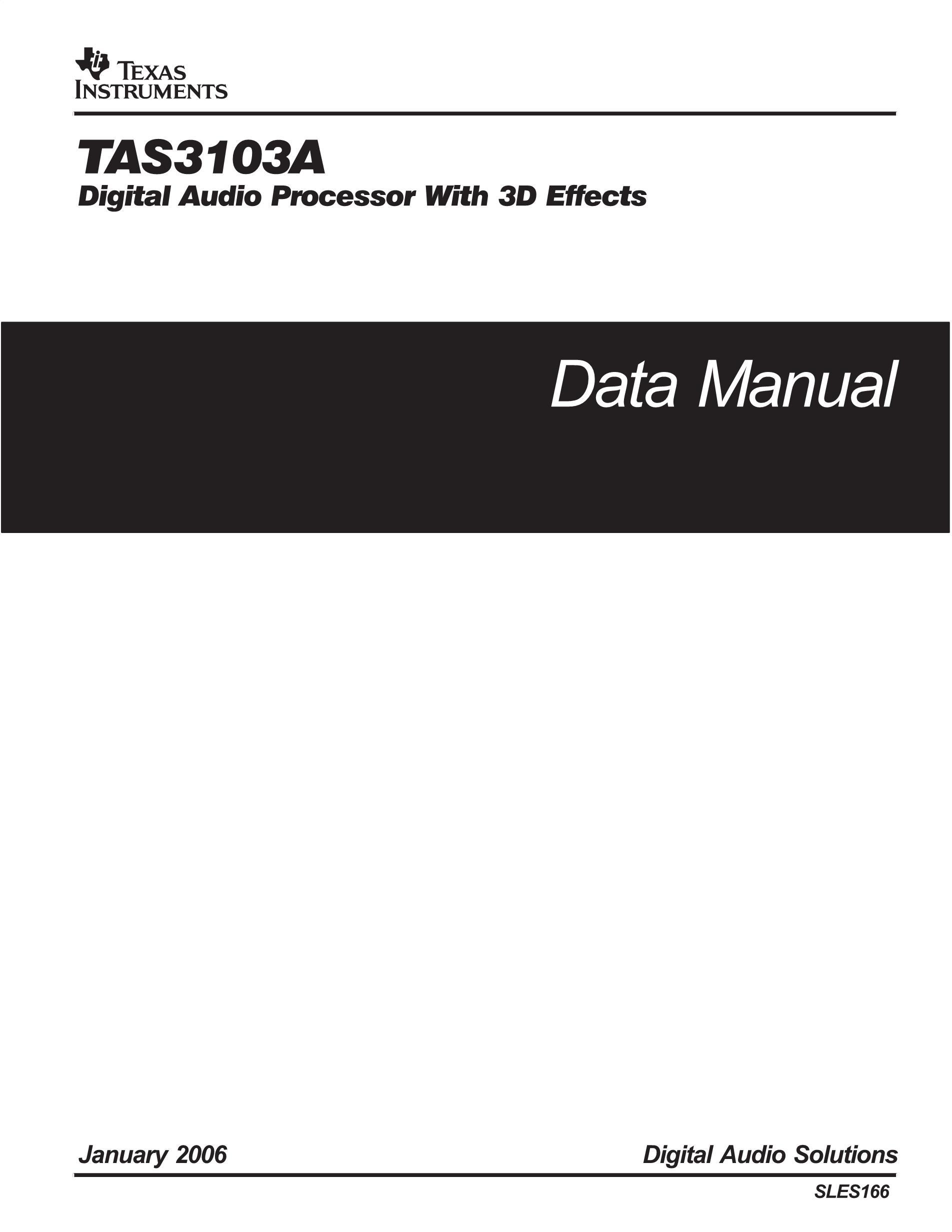 TAS3103DBTR's pdf picture 1
