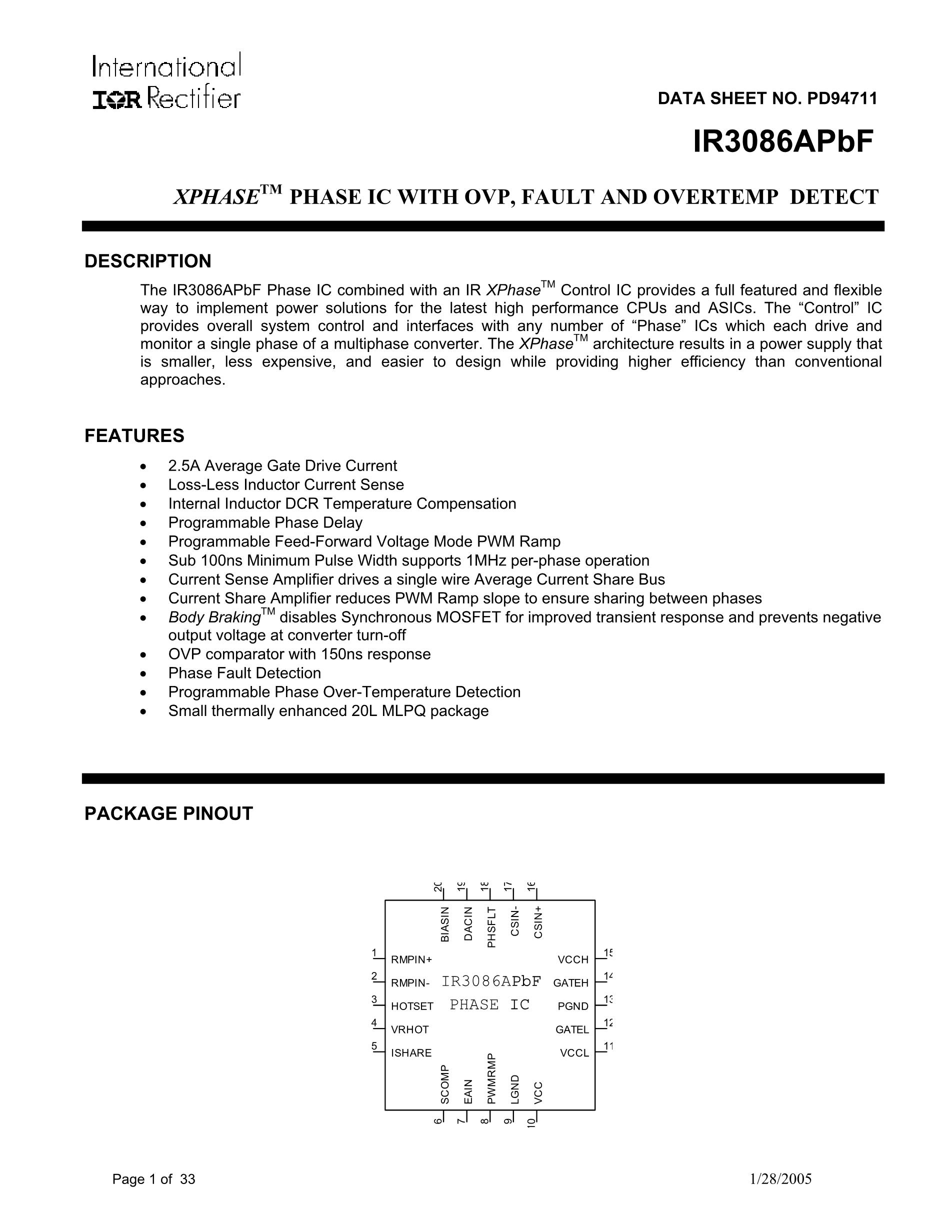 IR3088AMTR's pdf picture 1