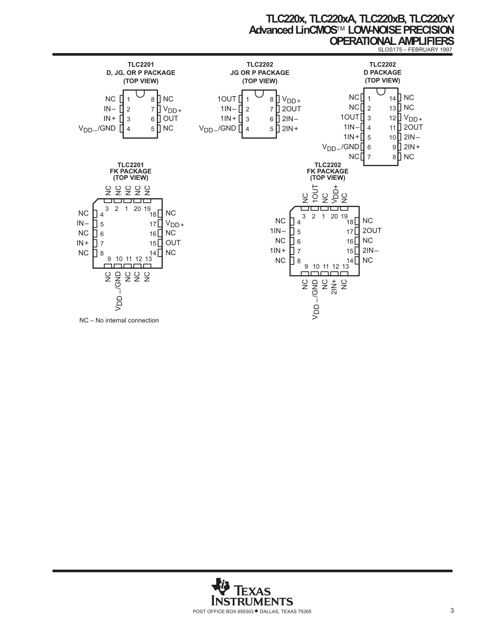 TLC2252AIDRG4's pdf picture 3