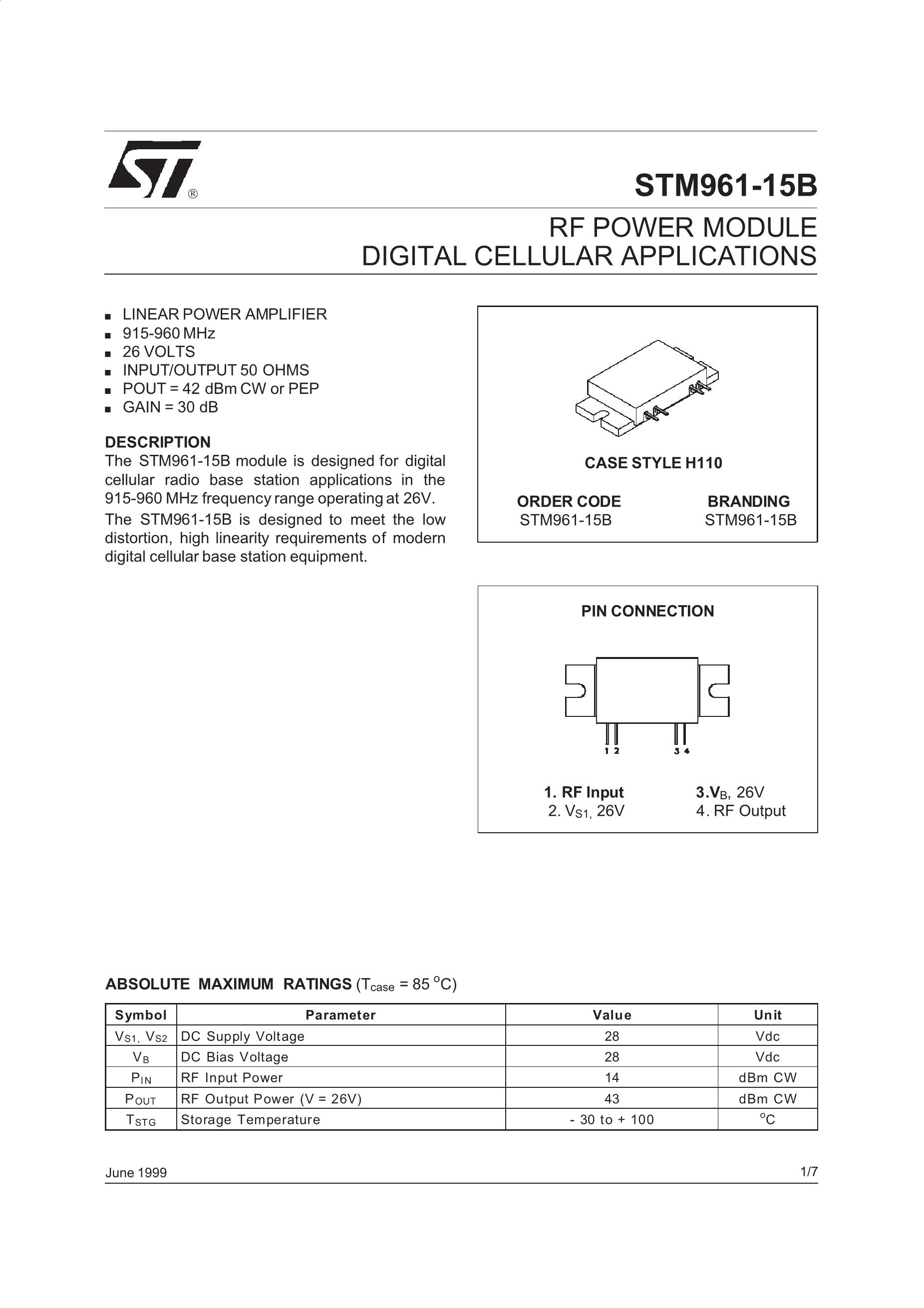 STM9814-0C-026's pdf picture 1