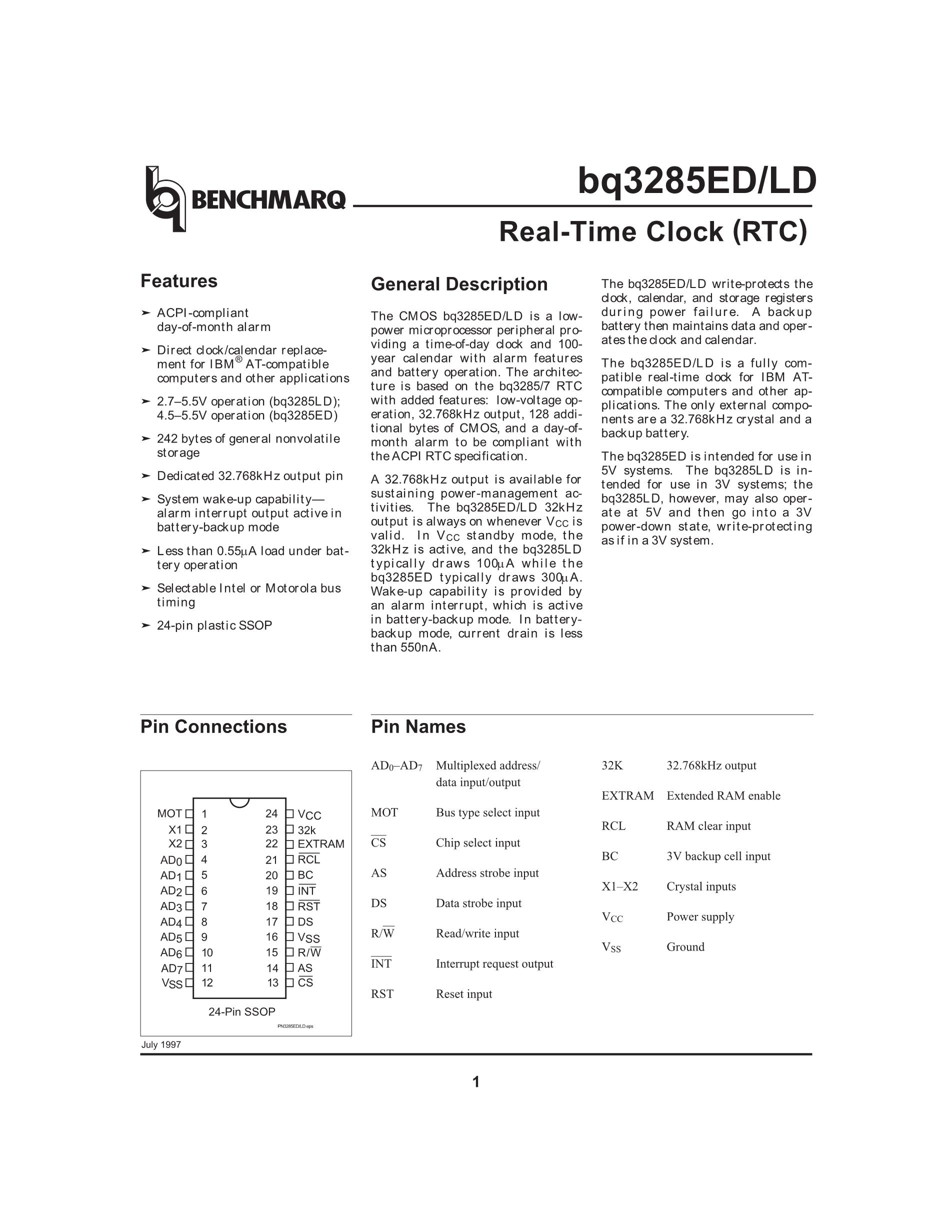 BQ3287EMT's pdf picture 1