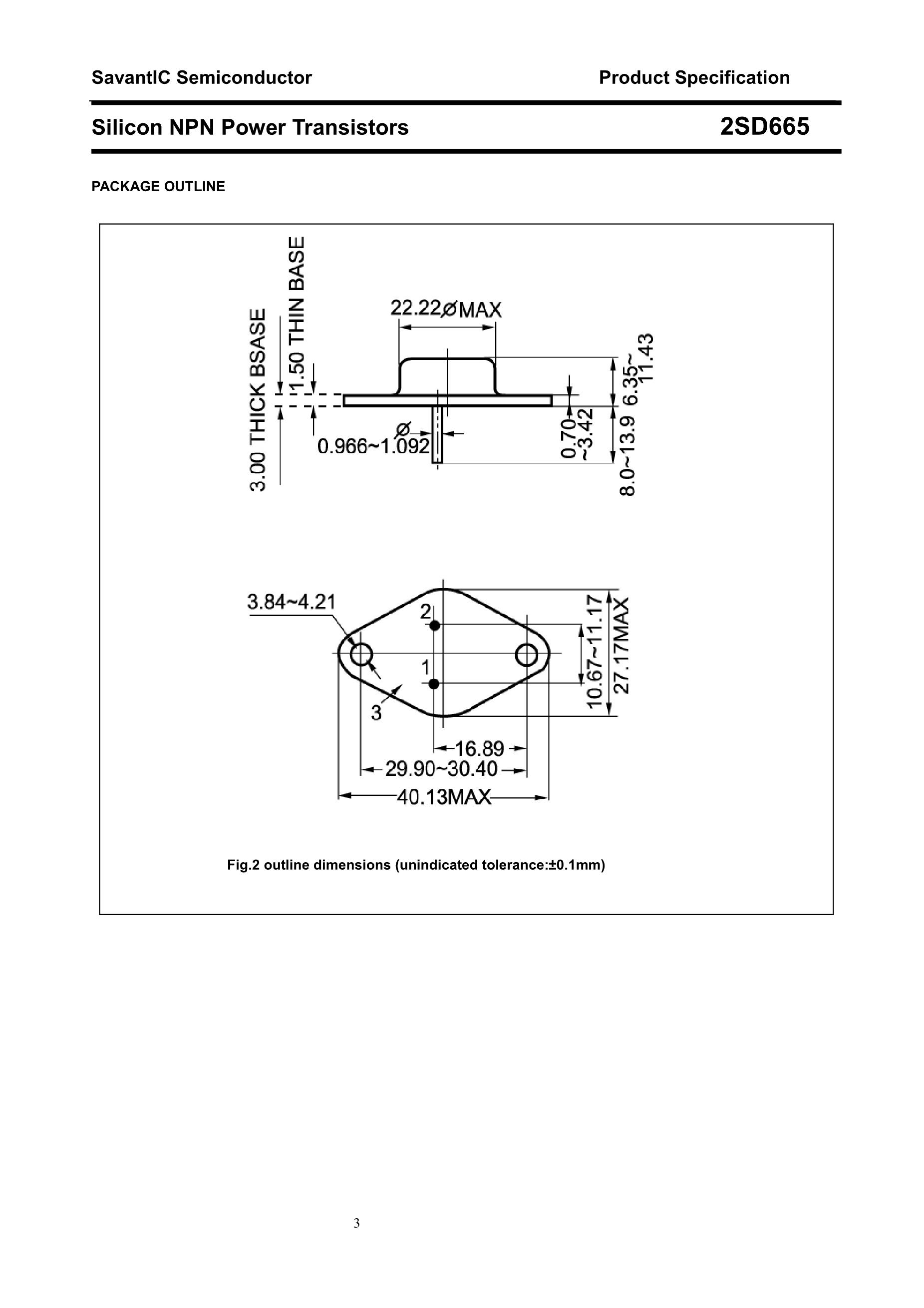 2SD601/YS's pdf picture 3