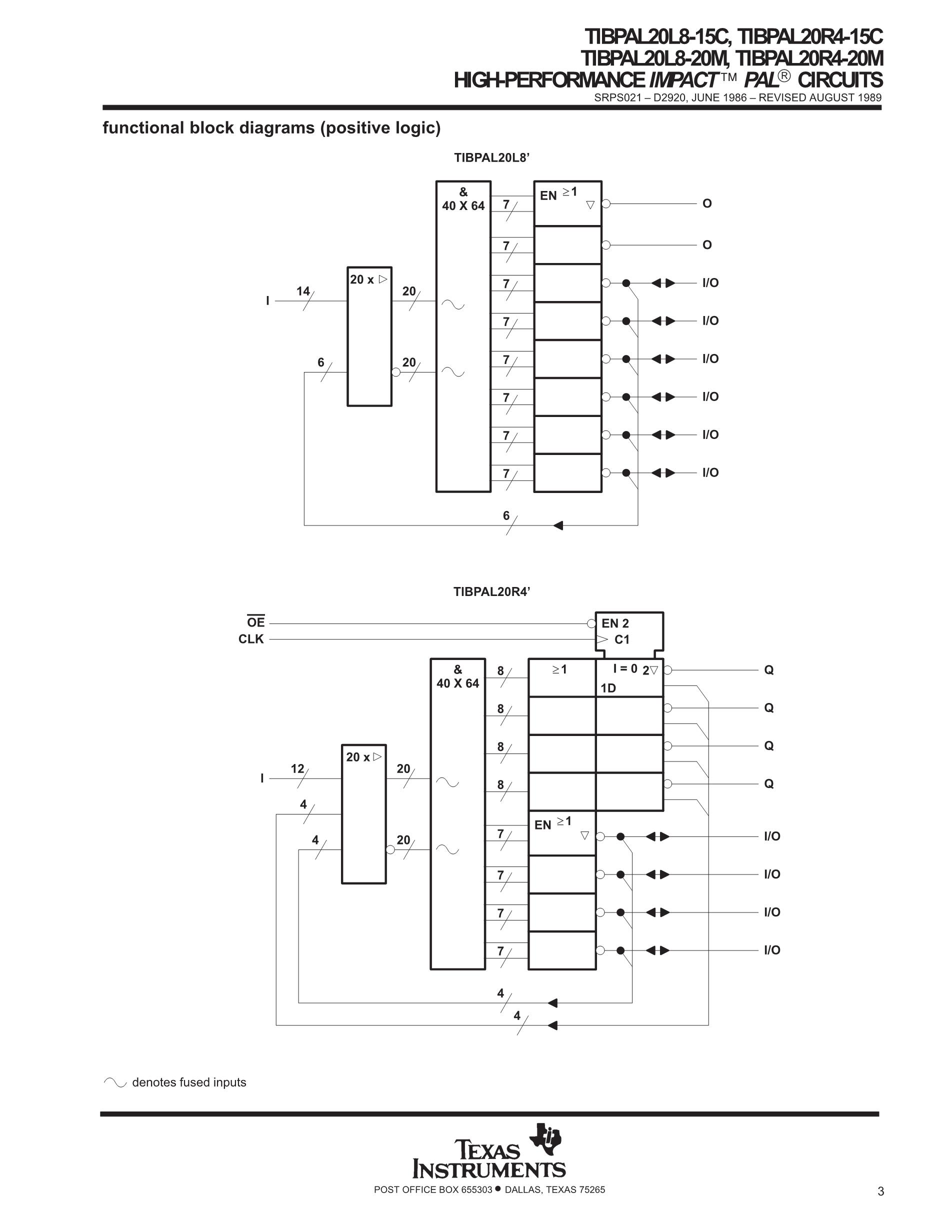TIBPAL20L8-15CNT's pdf picture 3