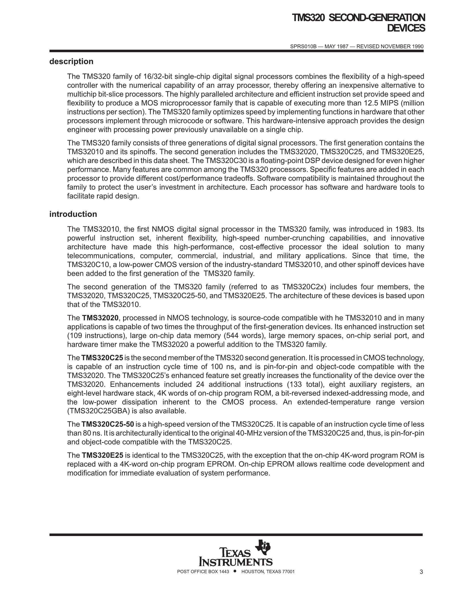 TMS320VC5421PGE200's pdf picture 3