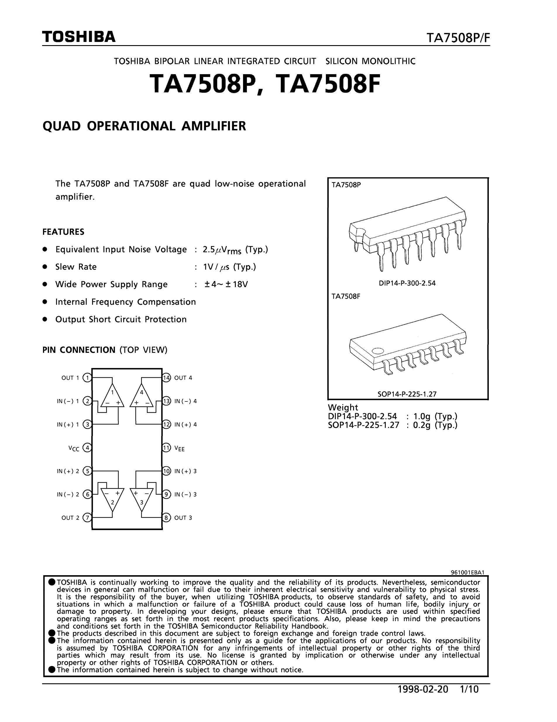 TA75W393FU's pdf picture 1
