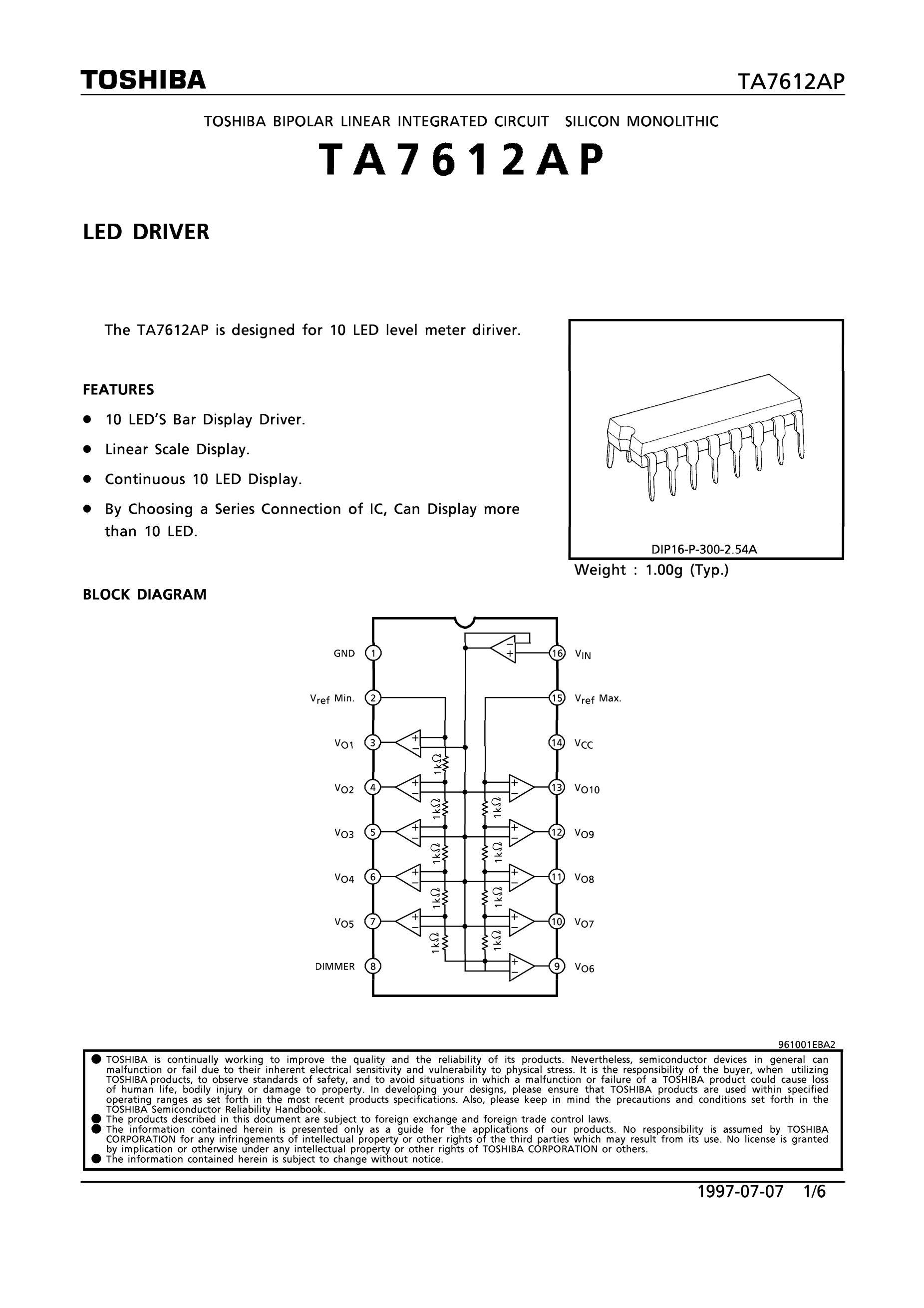 TA7612's pdf picture 1