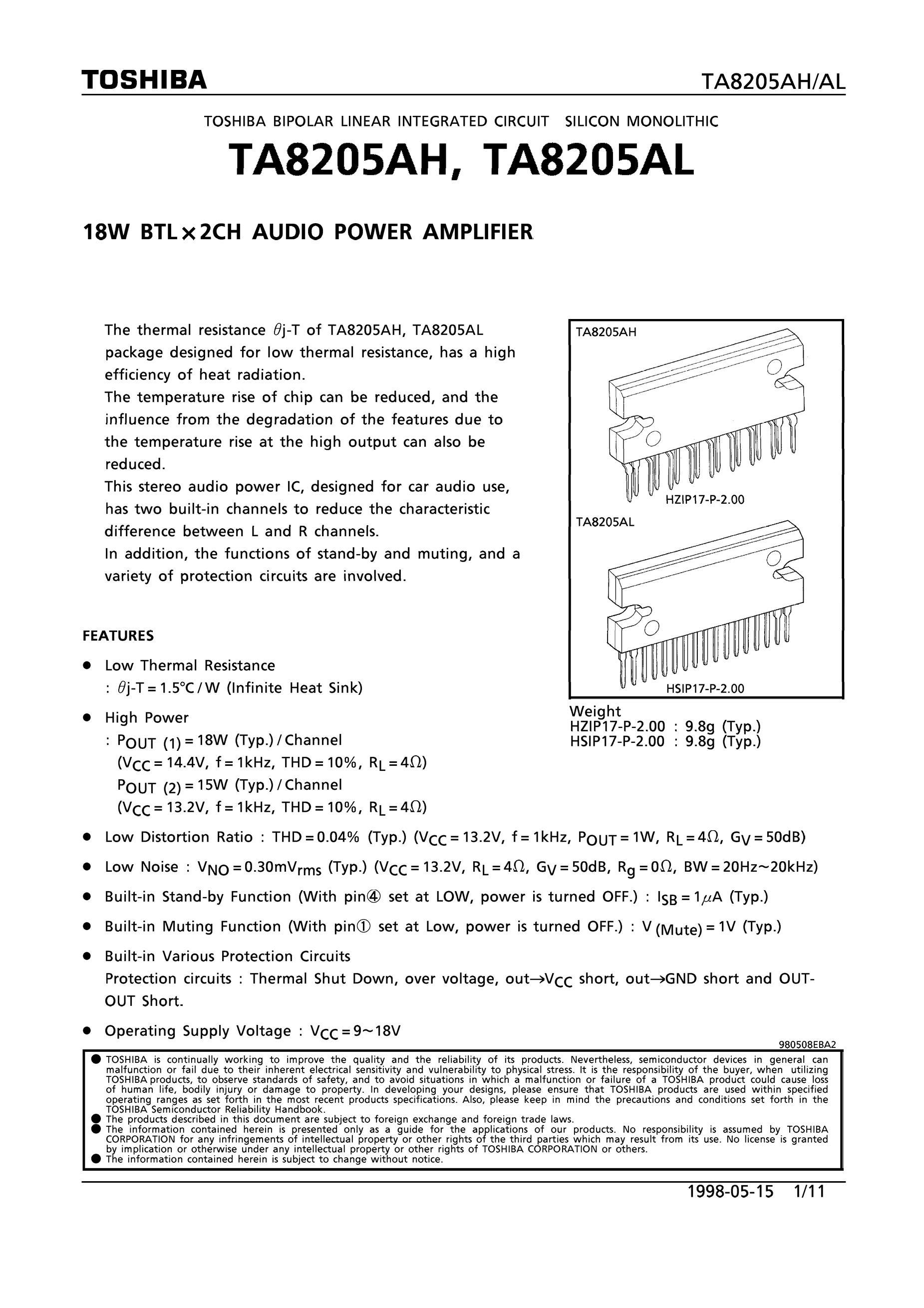 TA8286's pdf picture 1