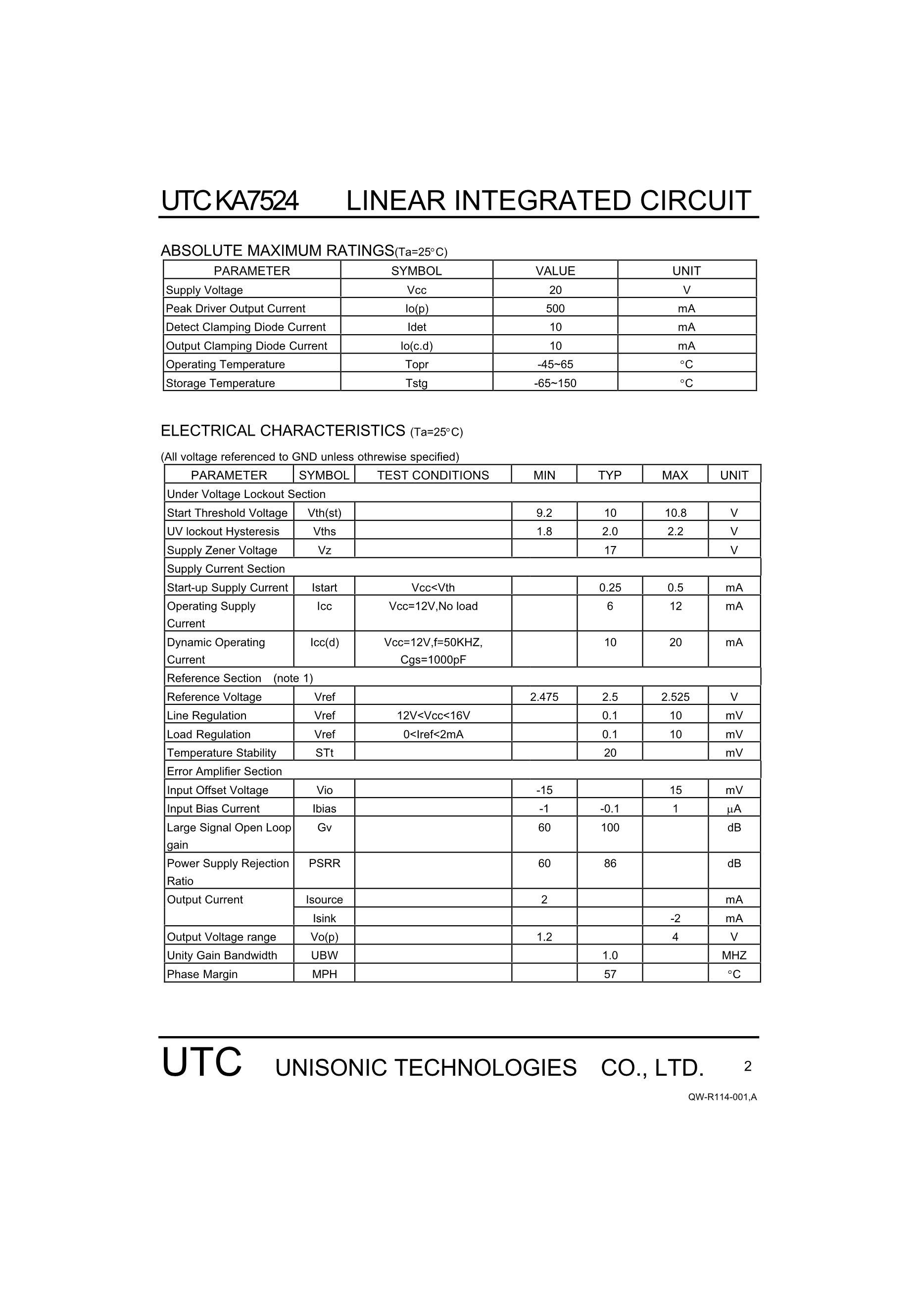 KA7500BS's pdf picture 2