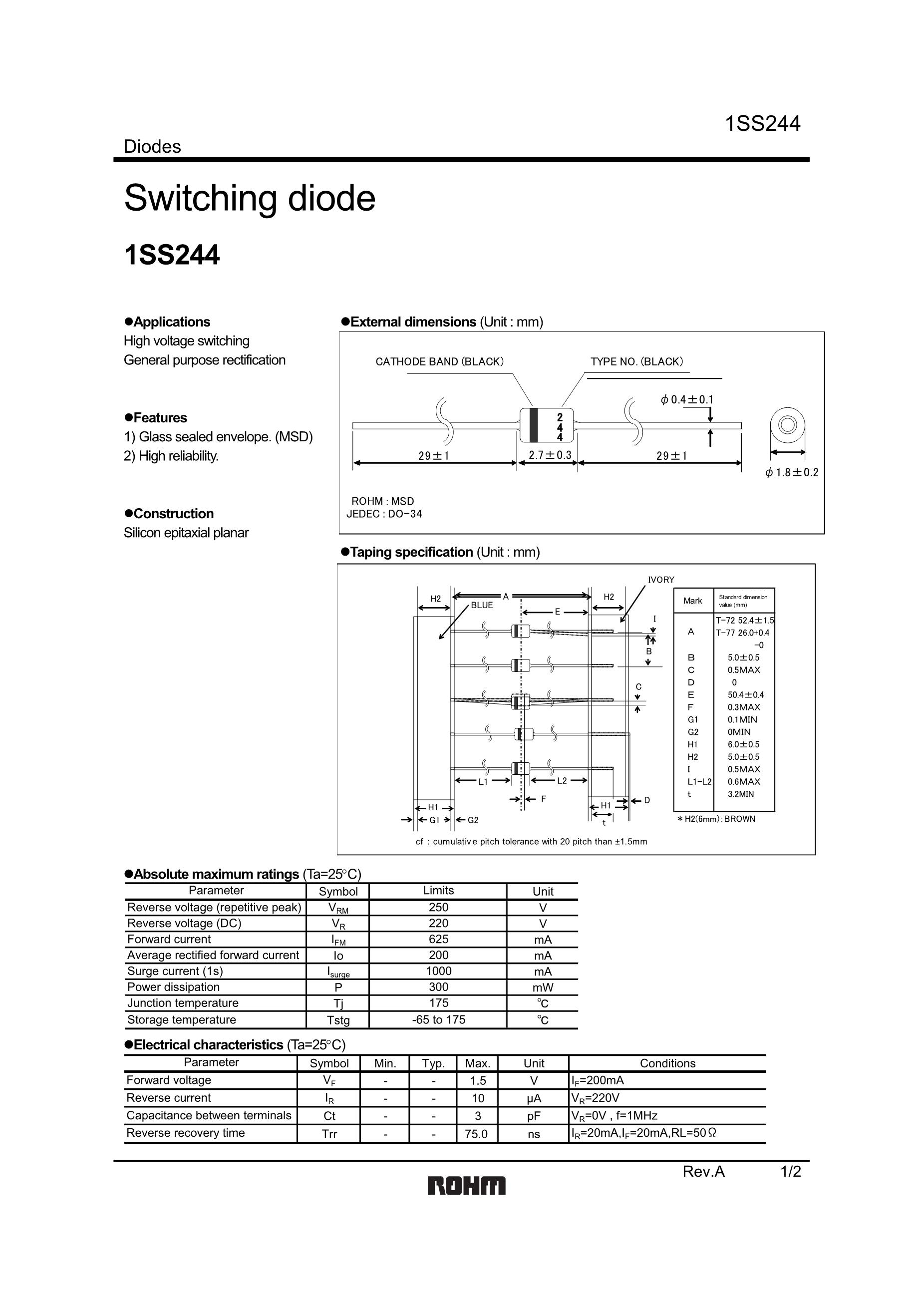 1SS223's pdf picture 1